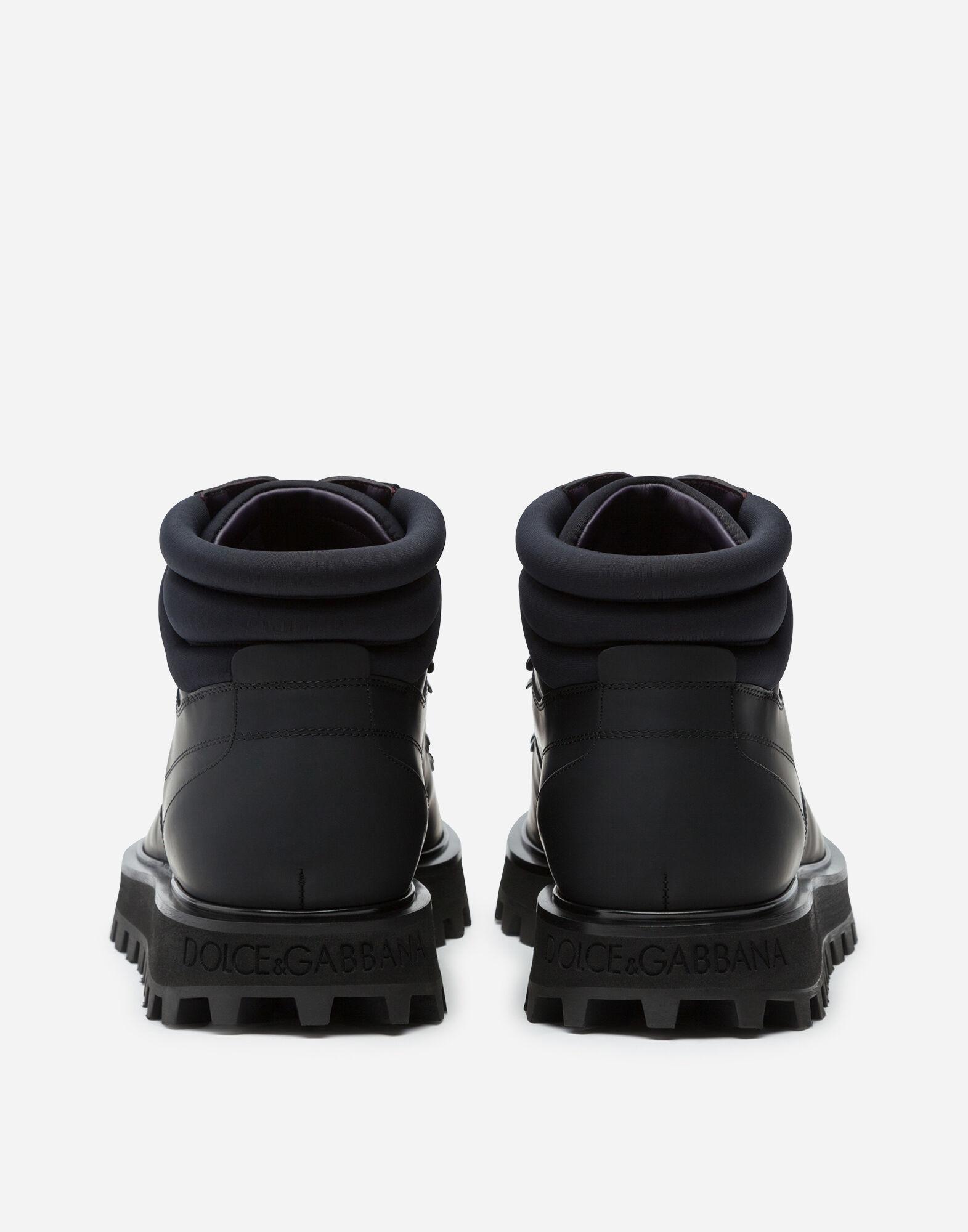 Botín De Becerro Y Neopreno Dolce & Gabbana de Neopreno de color Negro para hombre