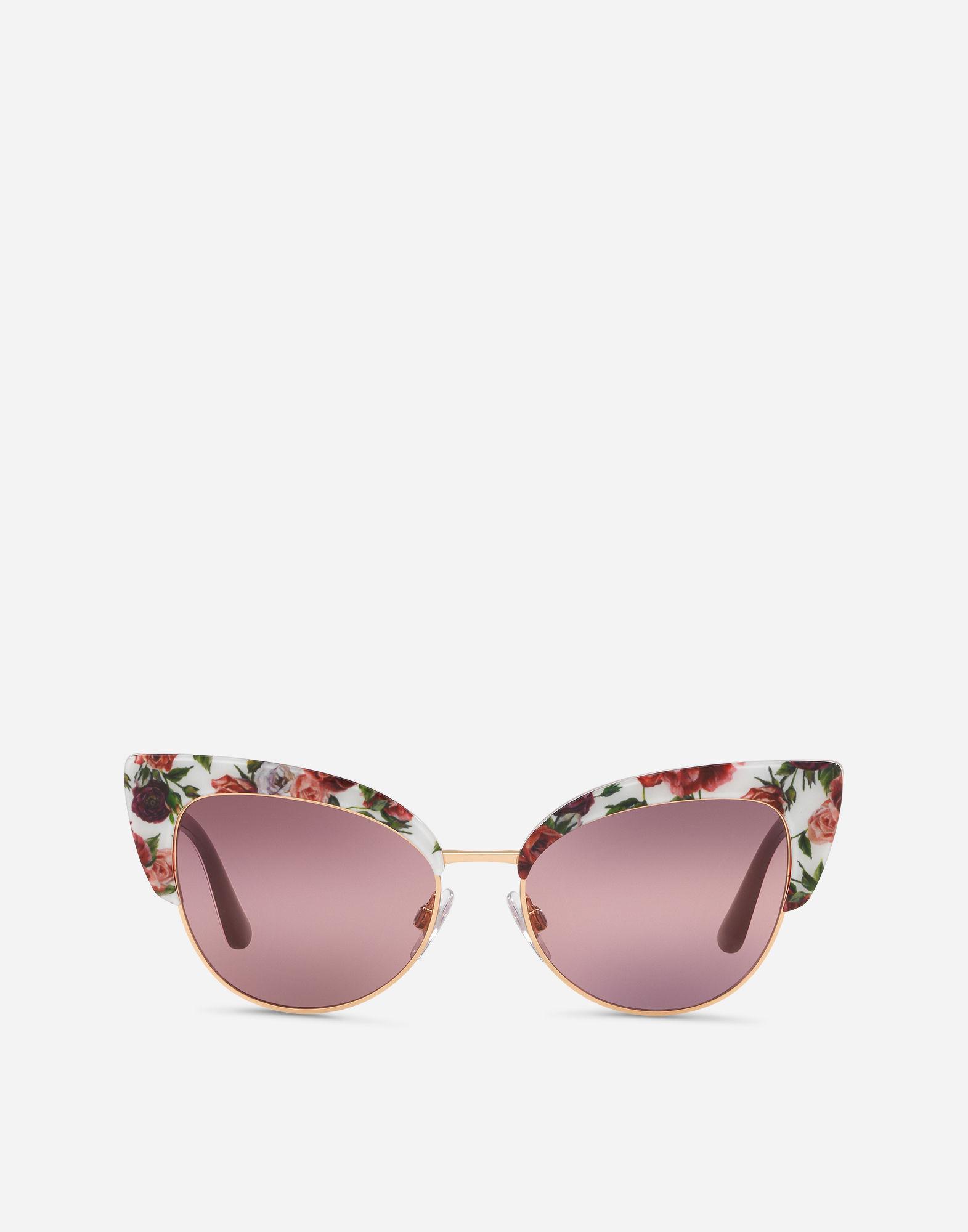 e58e5d769fdf Dolce   Gabbana. Women s Print Family Sunglasses