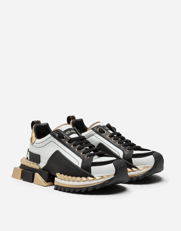 Baskets Super King Multicolores Dolce & Gabbana pour homme en coloris Blanc 7oSU