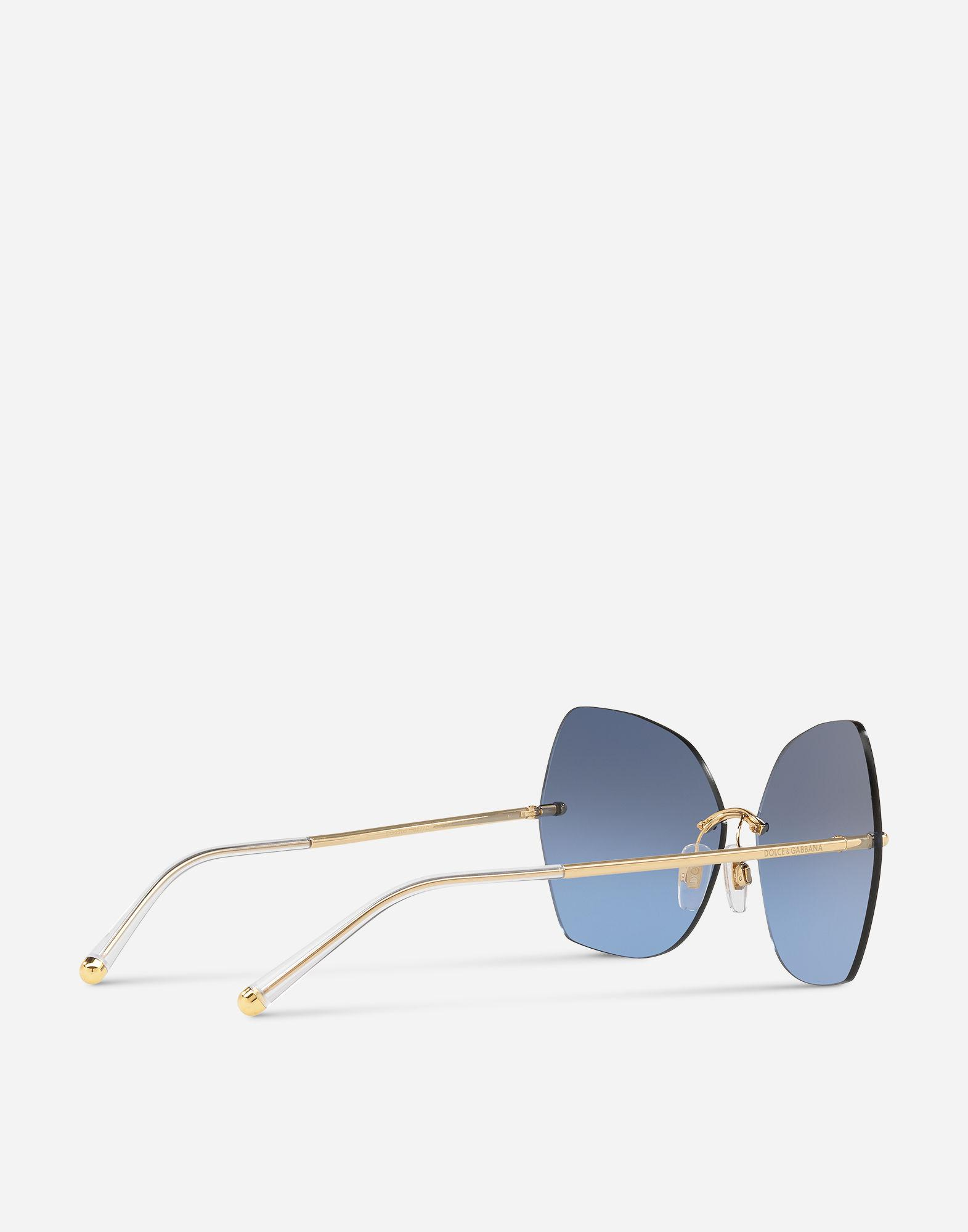 Dolce & Gabbana Butterfly Sunglasses With Metal Details