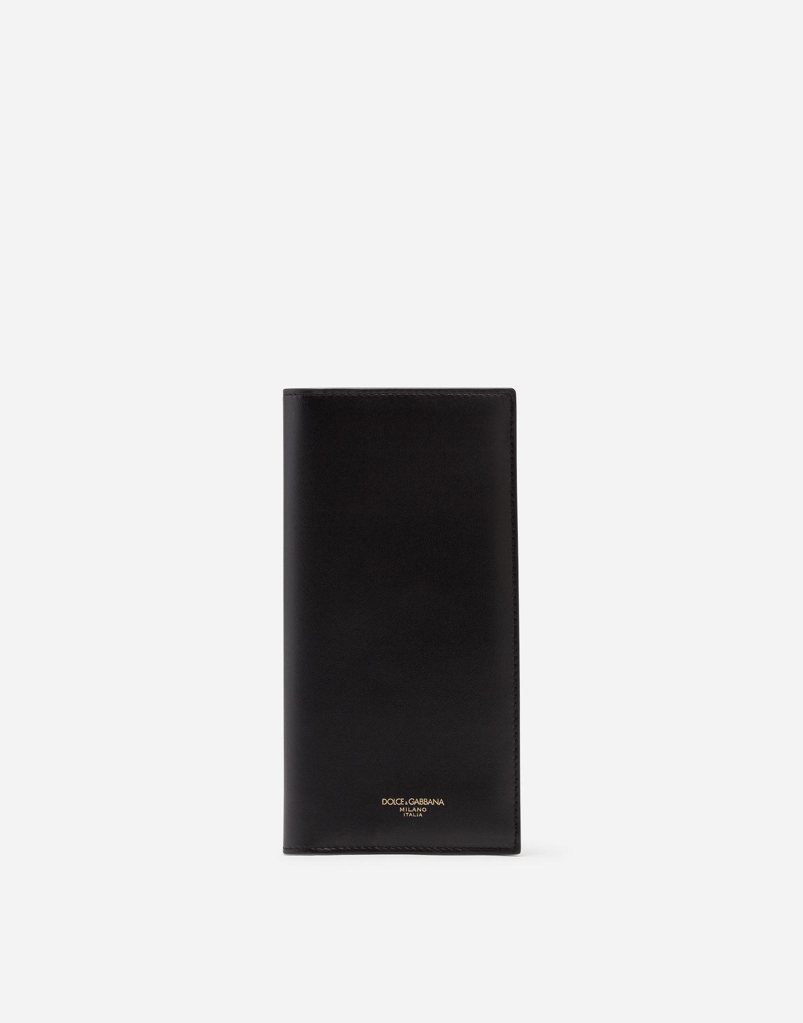 248ce2a1f0 Lyst - Dolce & Gabbana Long Wallet In Calfskin in Black for Men