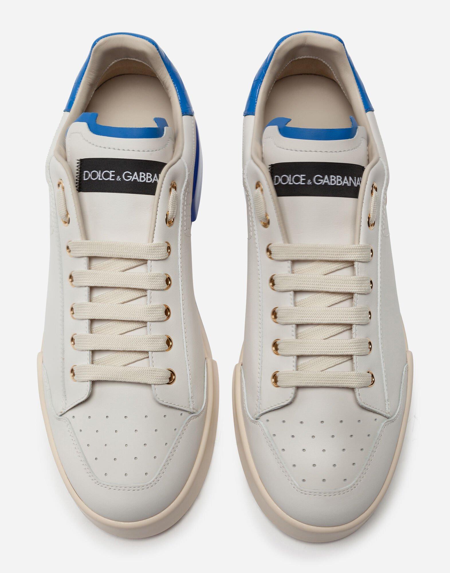 Sohle Sneakers Portofino Aus Mit Gefärbter Kalbsnappaleder SVpMqUz