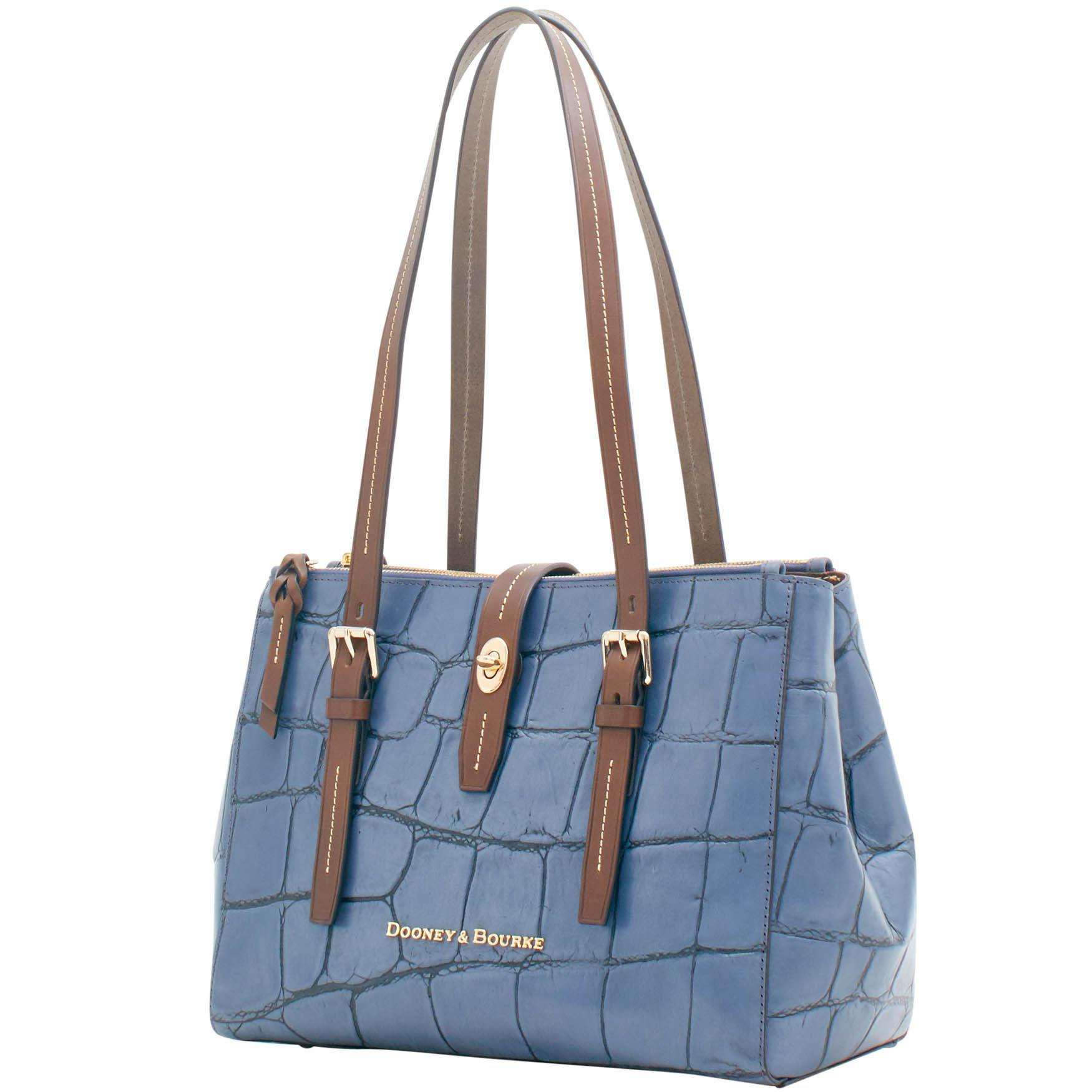 f2da61c99f2 Dooney   Bourke - Blue Denison Miller Shopper - Lyst. View fullscreen