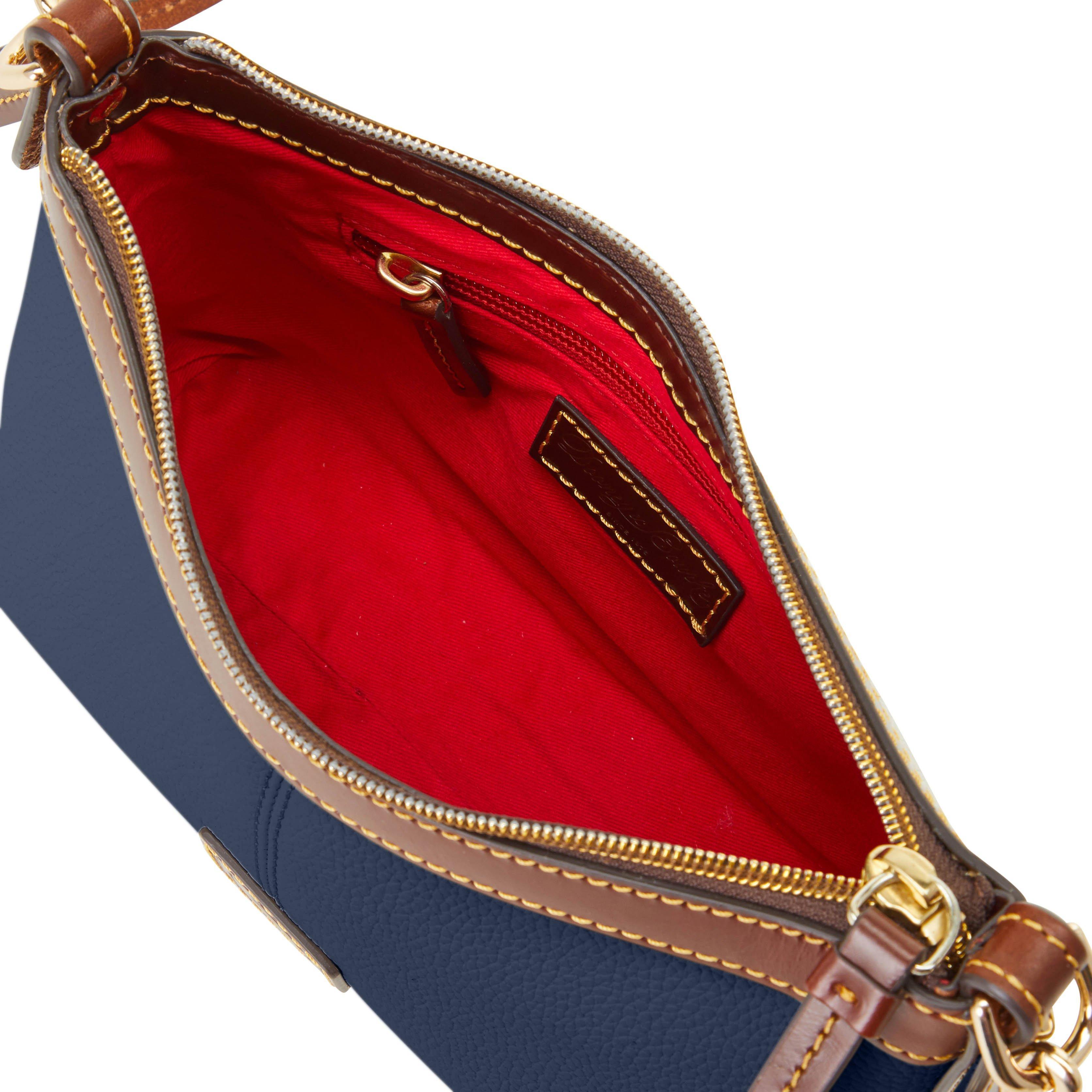 Dooney /& Bourke Belvedere Crossbody Pouch /& Business Card Case Shoulder Bag