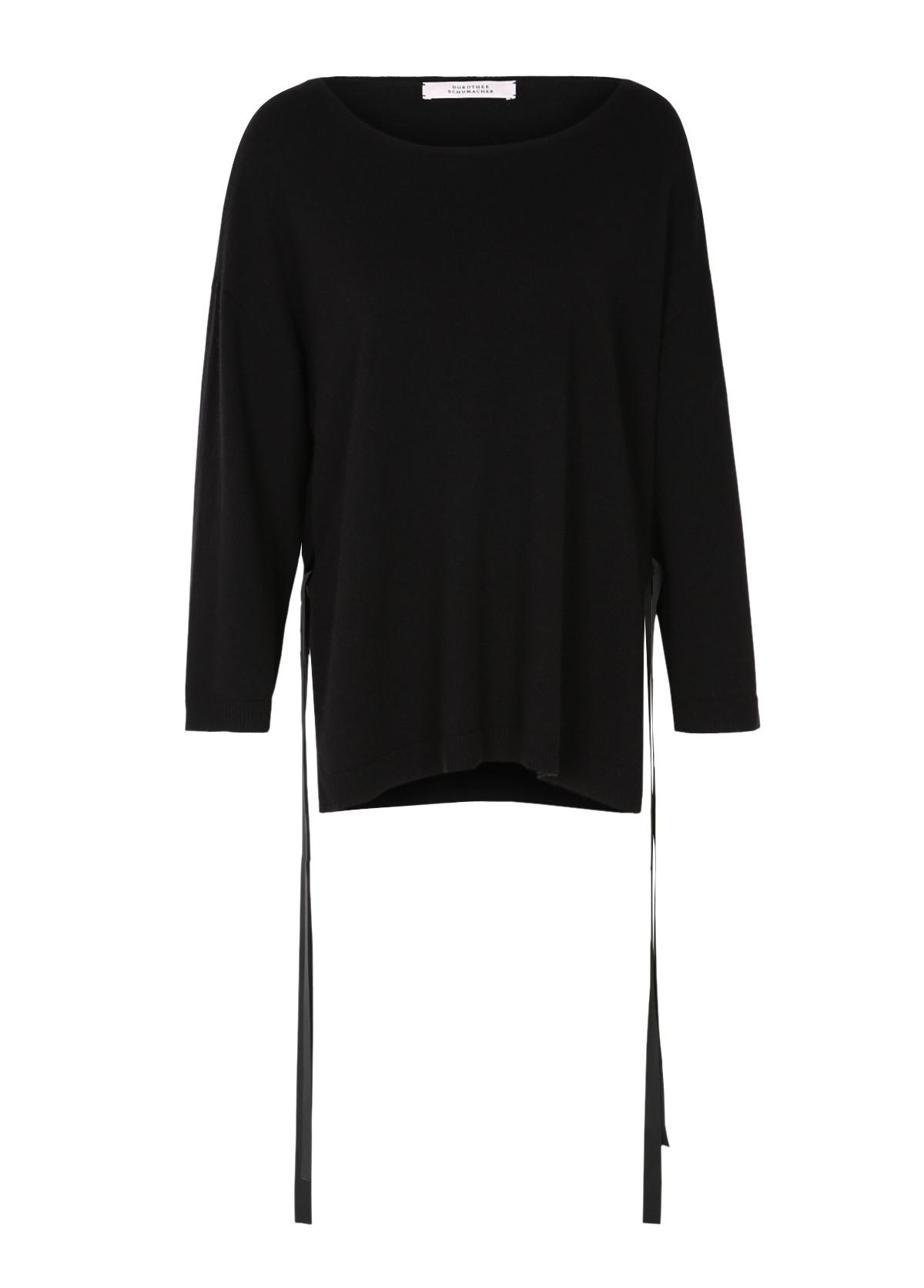 dorothee schumacher vivid dream pullover 7 8 in black lyst. Black Bedroom Furniture Sets. Home Design Ideas