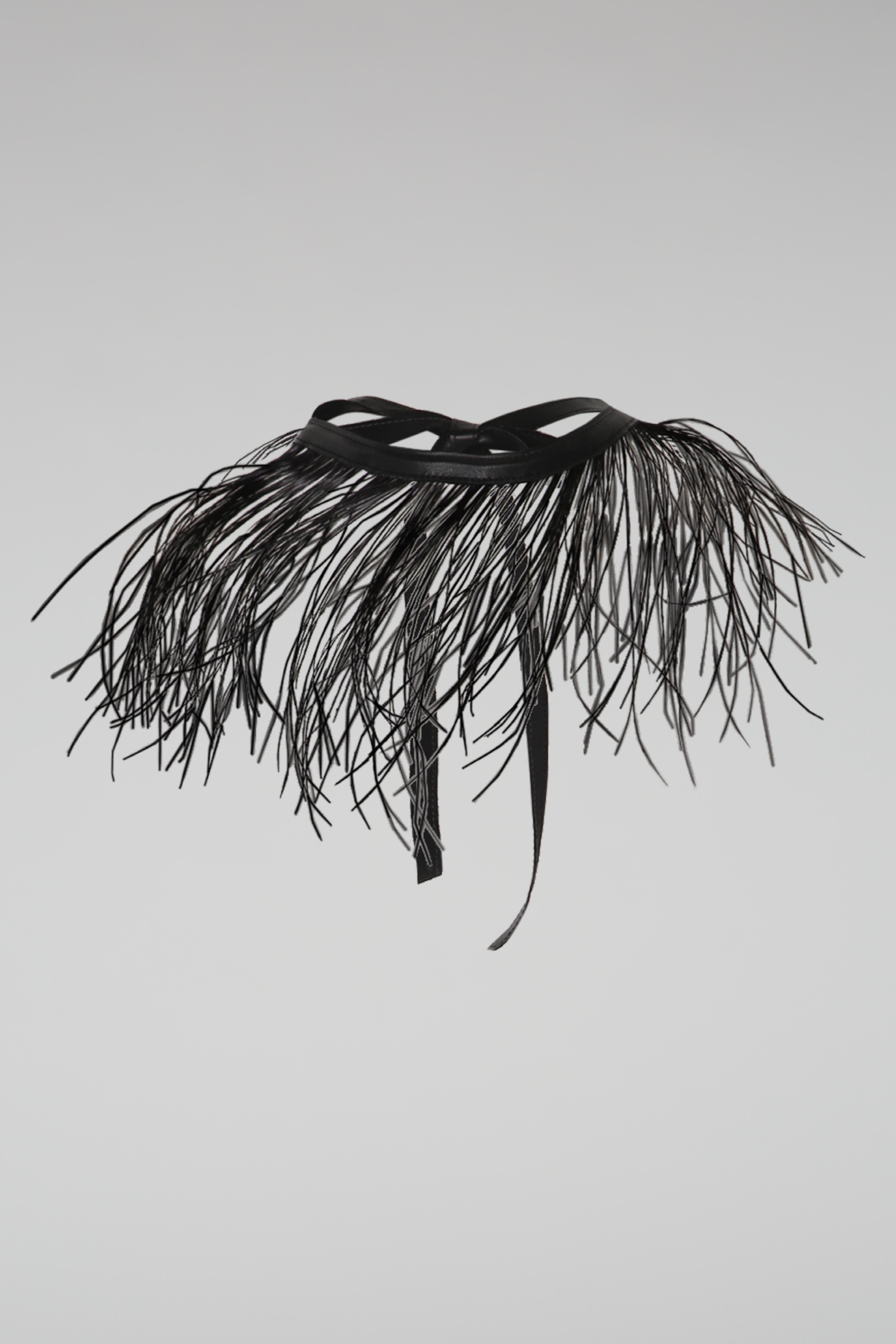 Dorothee Schumacher Adornment Feather Accessory