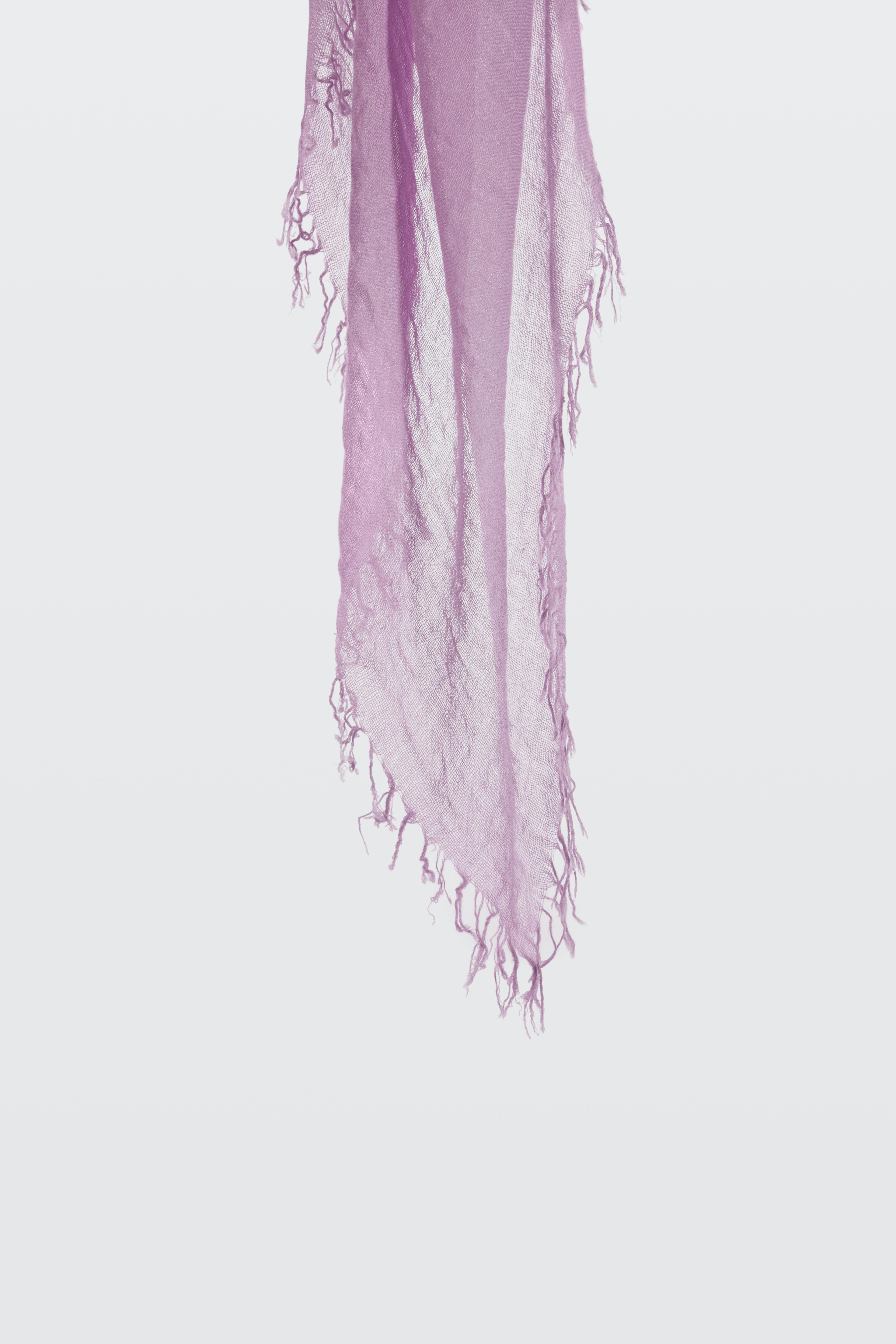 Outlet Order ROMANTIC ESCAPE printed scarf with handmade fringes 100 x 200cm Dorothee Schumacher Discount For Cheap Huge Range Of Free Shipping Cheap Quality rV1Vdf