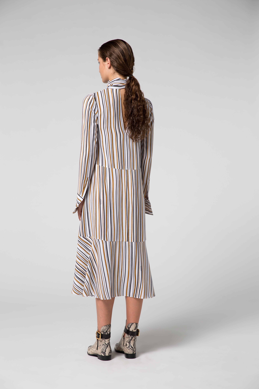 Offbeat Lines silk dress Dorothee Schumacher sAE5TrF2O
