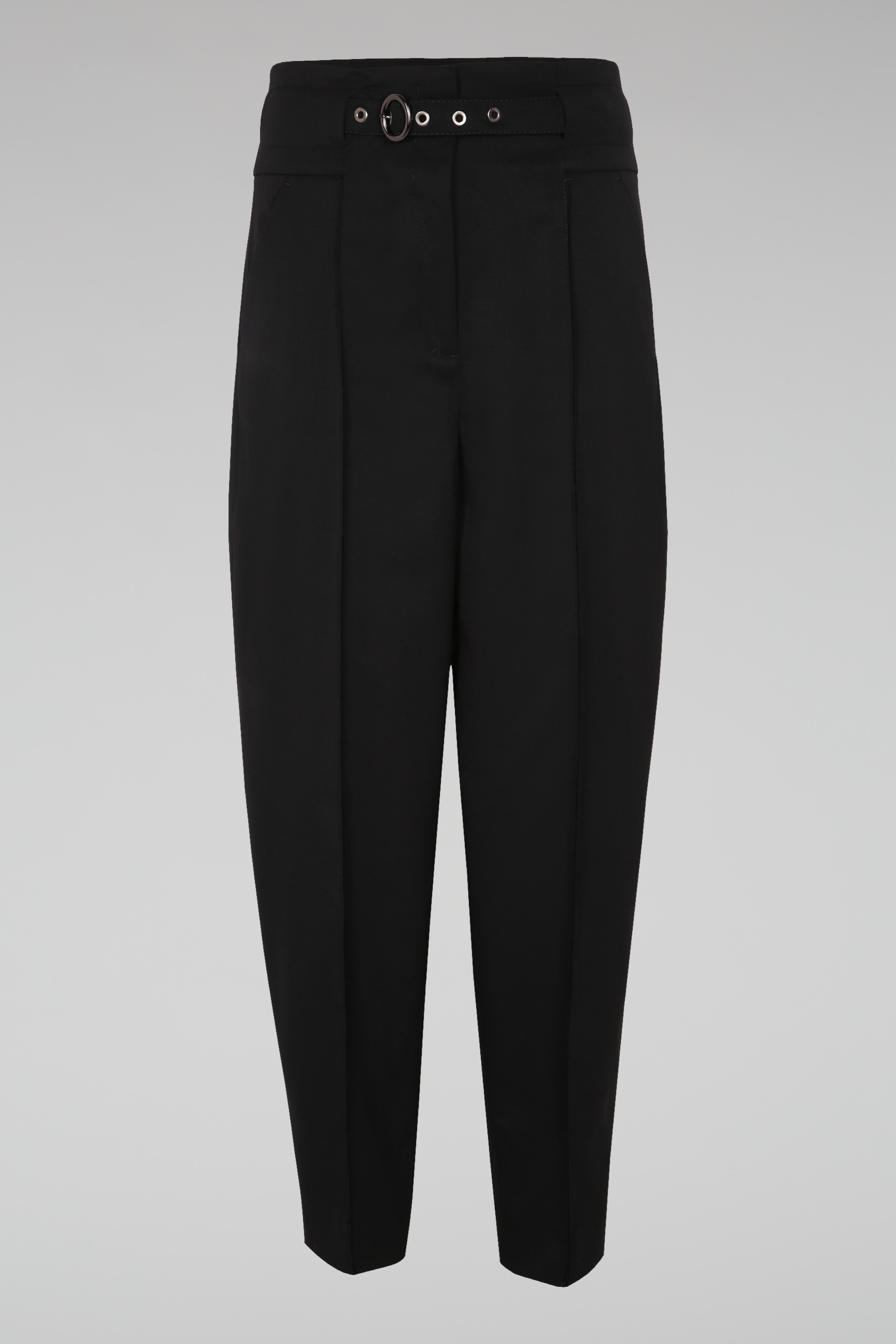 high waisted trousers - Black Dorothee Schumacher h5MIWD6j