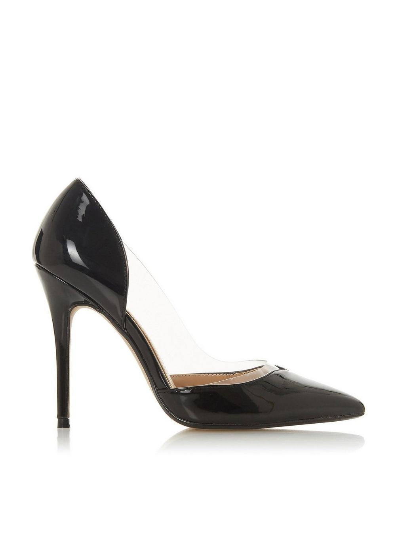 1705ea0c3c65 Dorothy Perkins. Women's Head Over Heels By Dune Black 'cecil' Ladies High Heel  Shoes