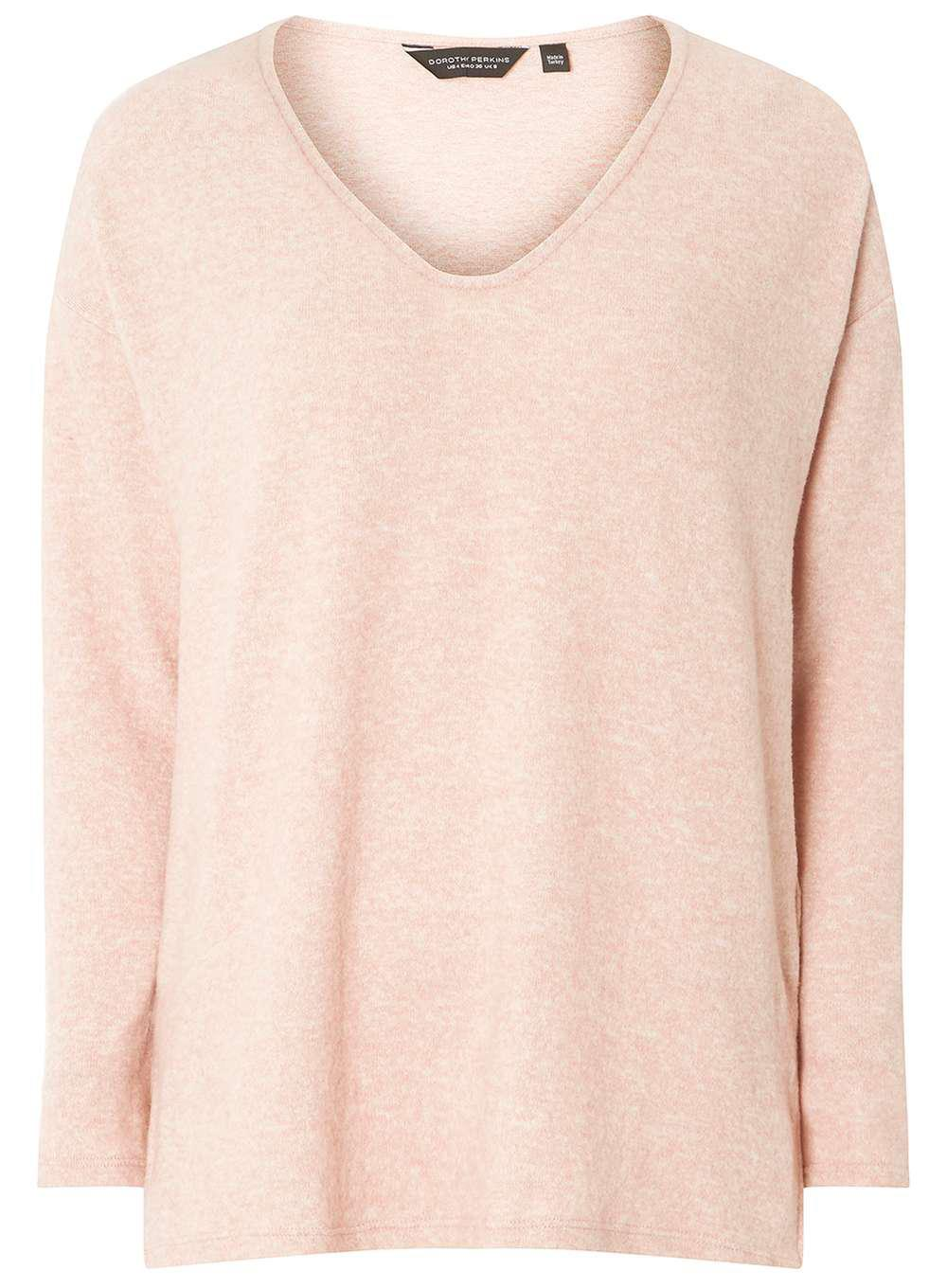 Womens V Neck Slouchy Long Sleeve Top Dorothy Perkins Buy Cheap Largest Supplier From China For Sale Best Wholesale Sale Online Clearance Browse Outlet Store Dvsextq