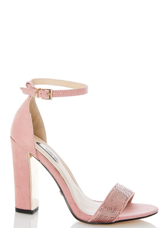 Dorothy Perkins Quiz Pink Sequin Block