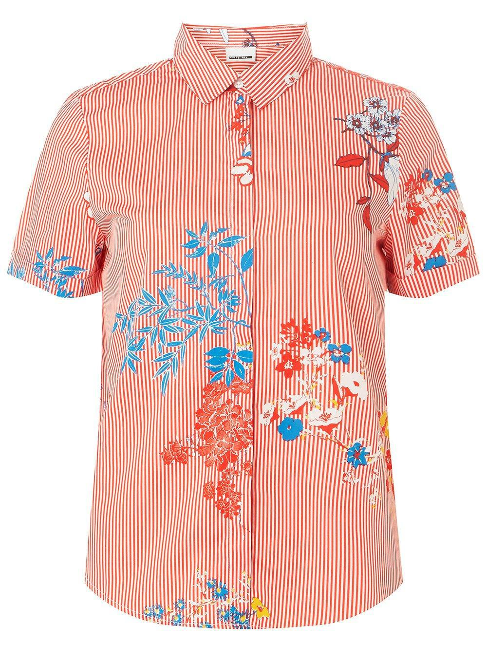 Cheap Price Factory Outlet Dorothy Perkins Womens **Noisy May Printed Shirt- Limited New Clearance Best Store To Get GX8W9a6LW5