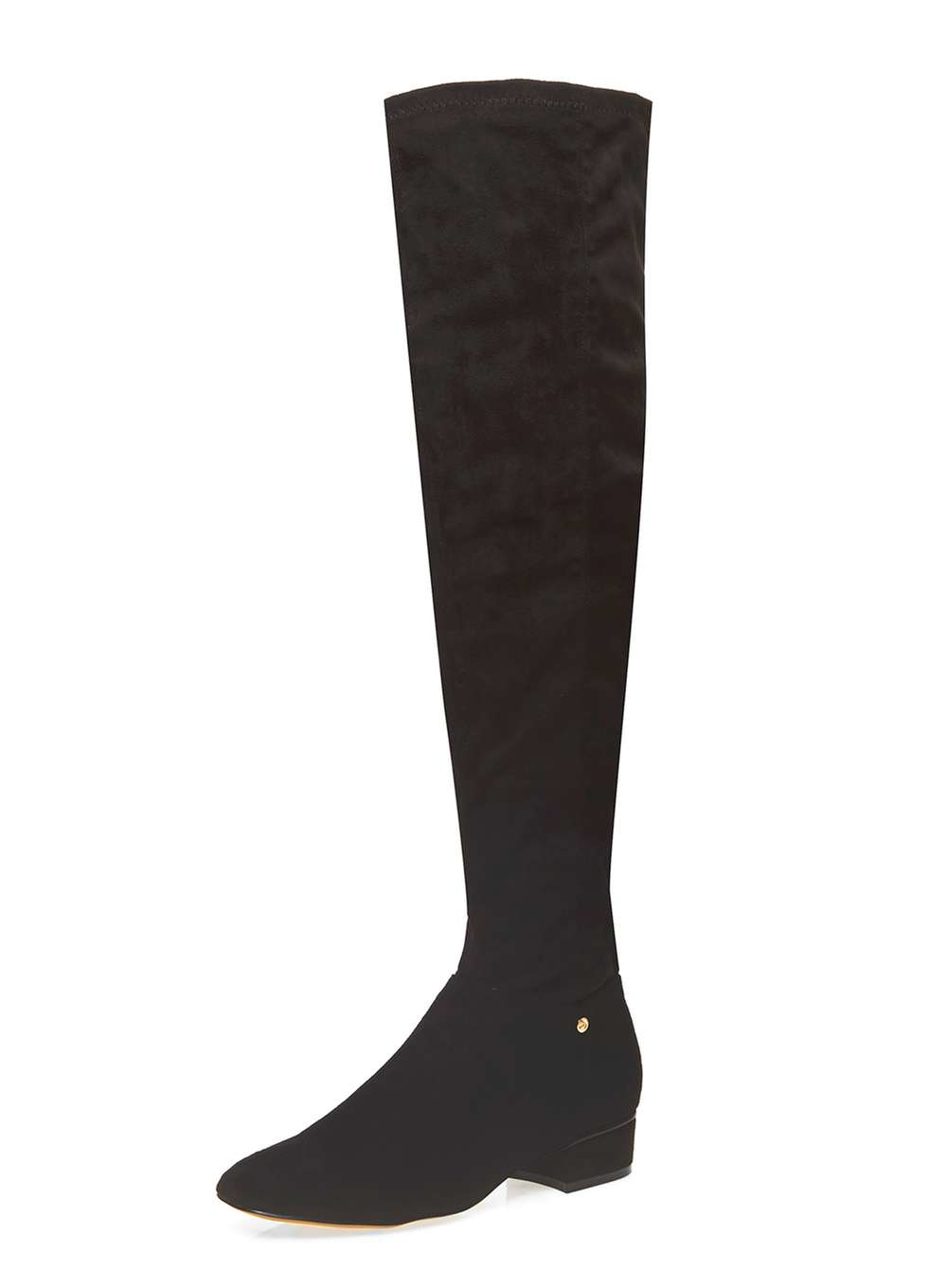 dorothy perkins ravel the knee boots in black lyst