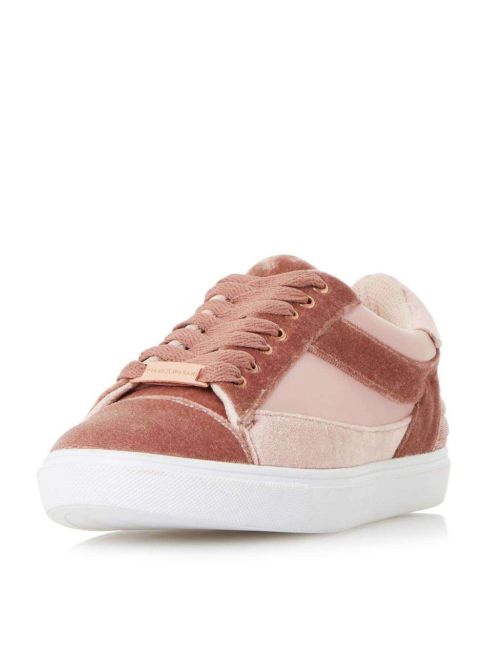 Dune Blush 'elize' Trainers in Pink - Lyst
