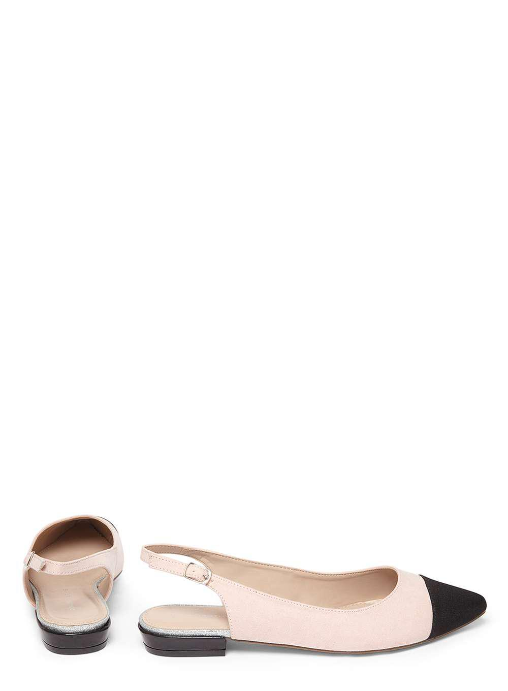 47dcf011f9ec Lyst - Dorothy Perkins Nude  hobby  Slingback Shoes in Pink