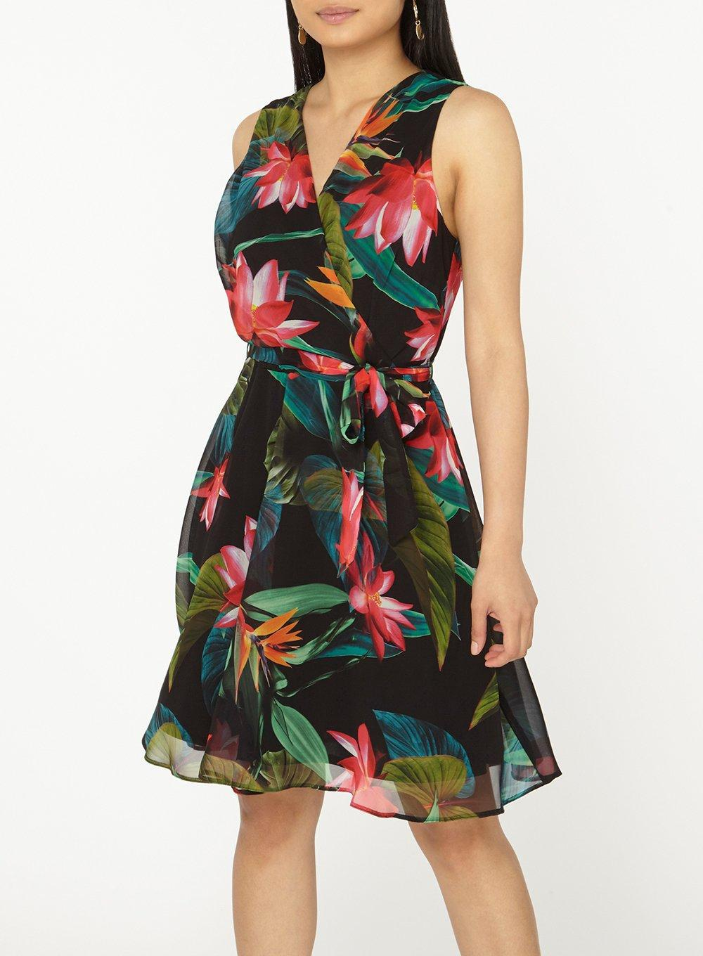 c5b768c2cd66 Gallery. Previously sold at: Dorothy Perkins · Women's Tropical Print  Dresses ...