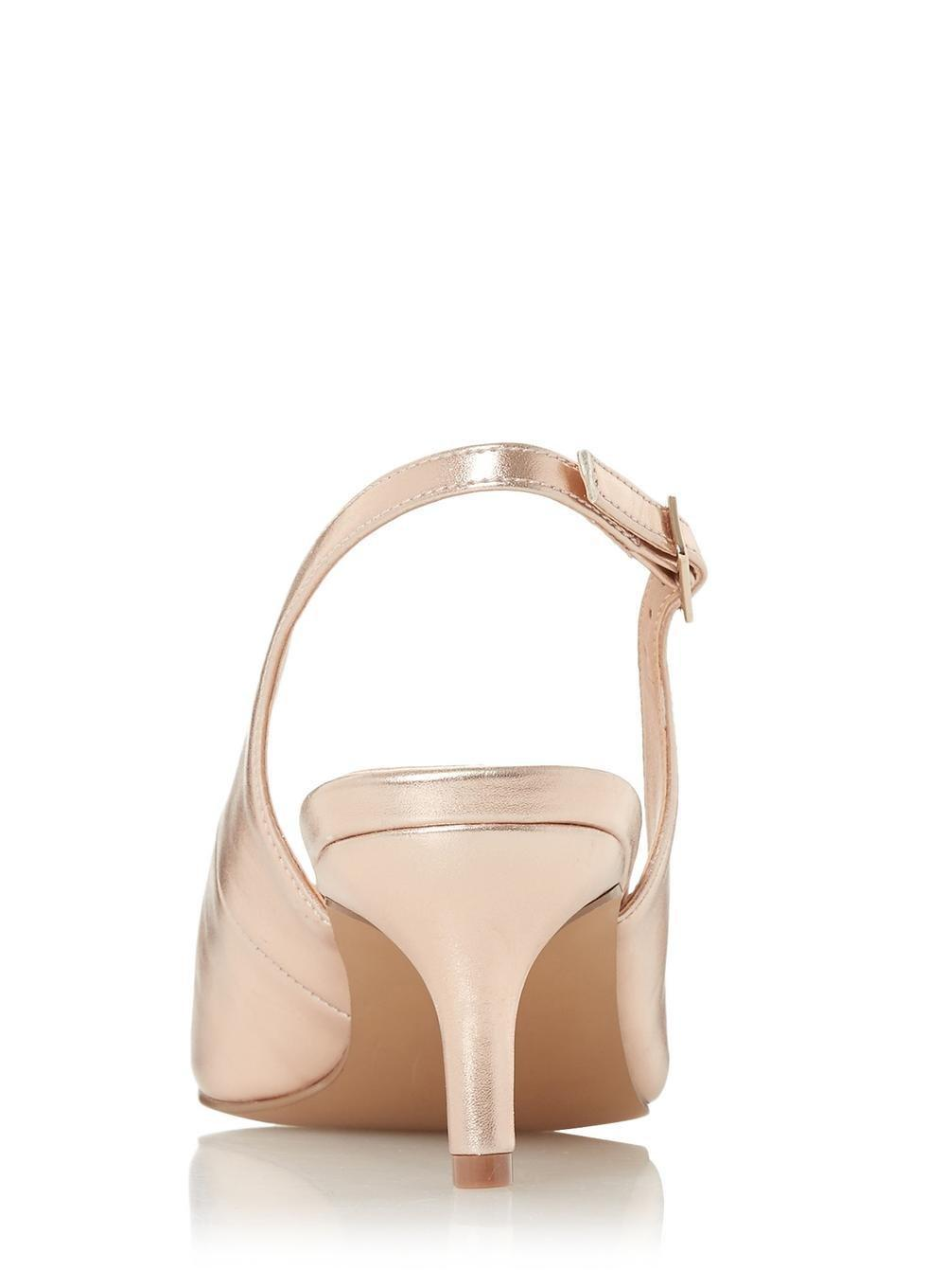 4cf9498e6a8 Dorothy Perkins Multicolor Head Over Heels By Dune Rose Gold 'corrin'  Heeled Shoe
