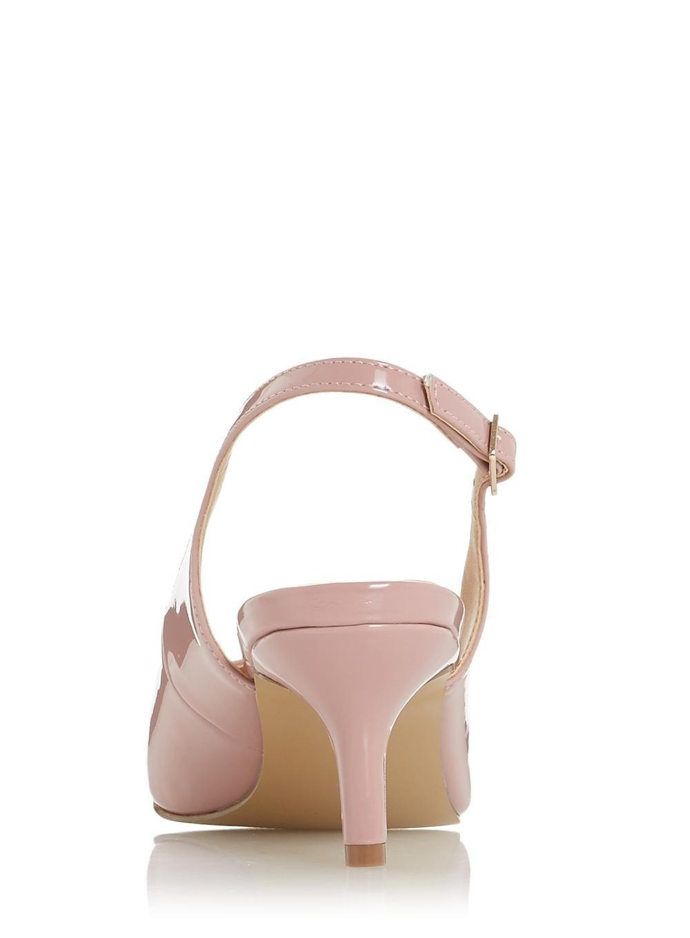 6d0f5bd99a2 Dorothy Perkins Head Over Heels By Dune Dusty Pink 'corrin' Shoes
