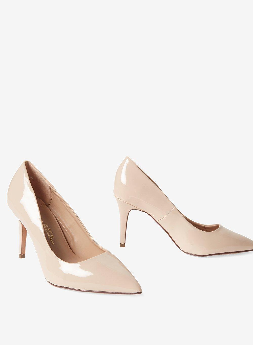 Wide Fit 'electra' Court Shoes
