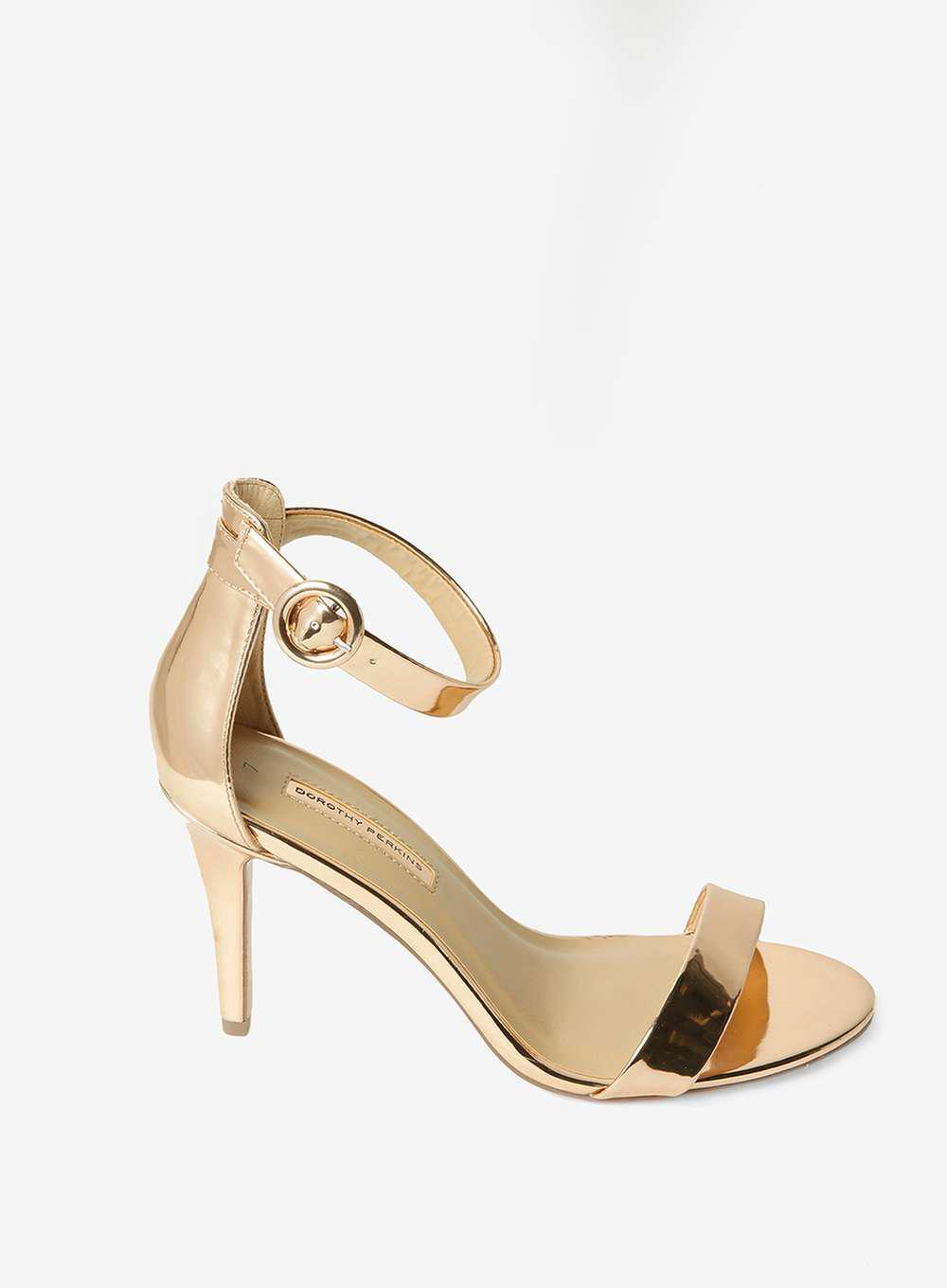 Dorothy Perkins BOUNCE - High heeled sandals - rose gold