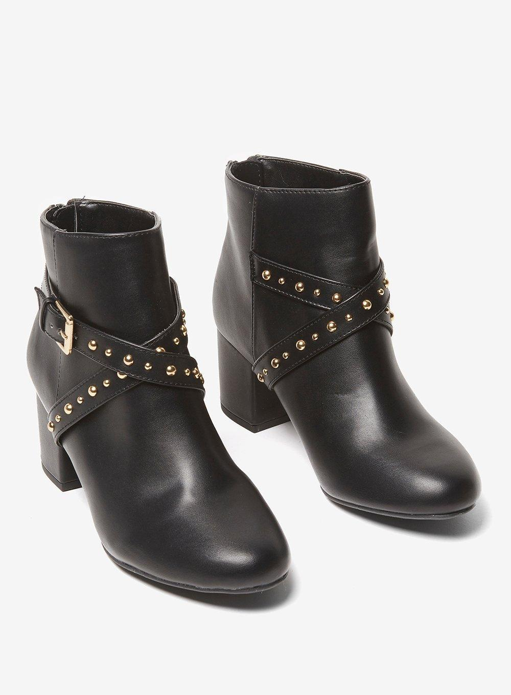 Dorothy Perkins Synthetic Widefit Black 'aliyah' Ankle Boots