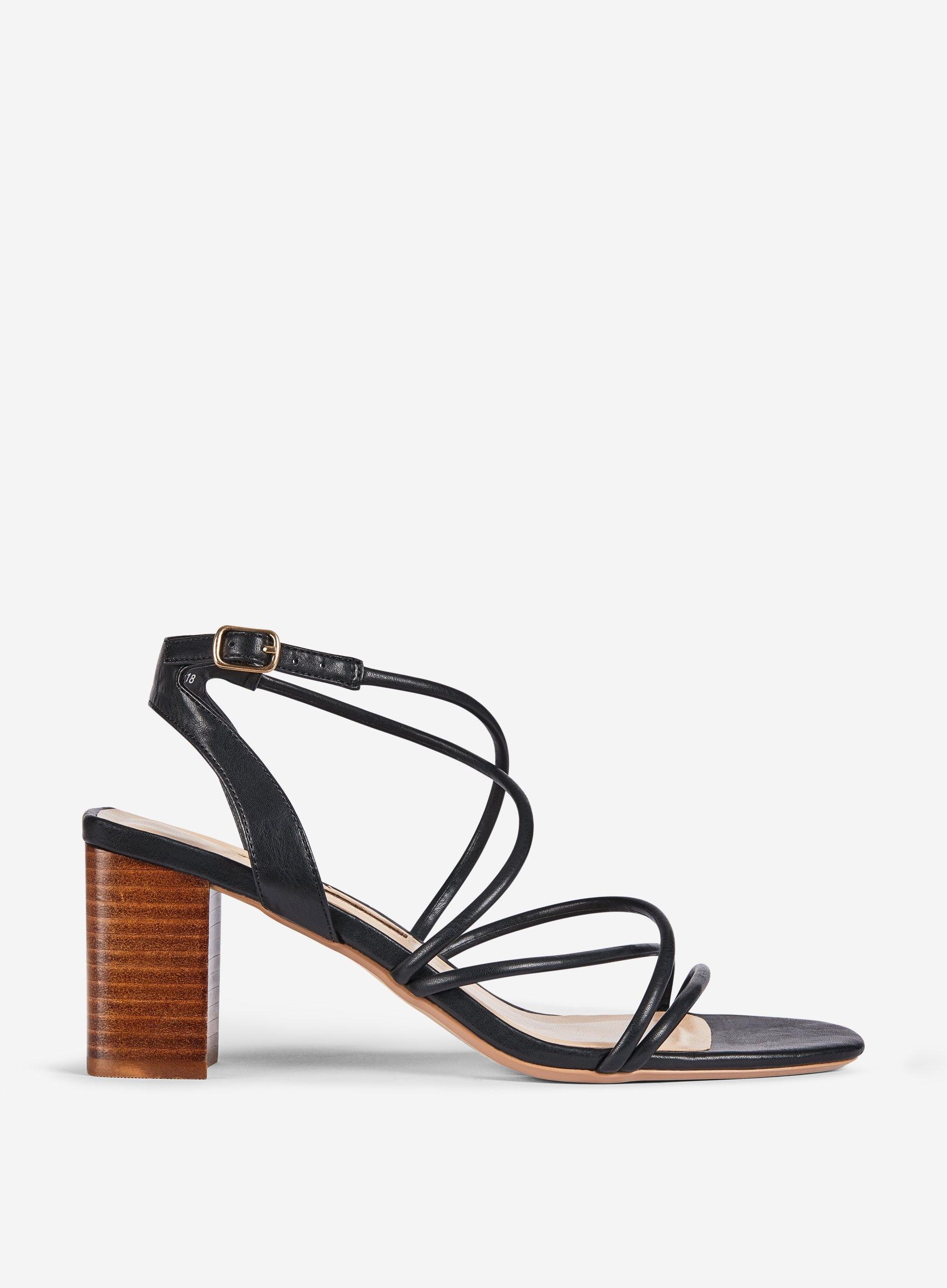 8574e8ef64 Dorothy Perkins Black 'saigon' Block Heel Sandals in Black - Save 25 ...
