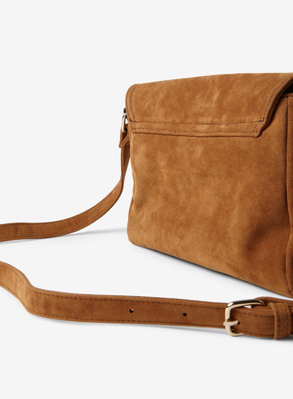 Dorothy Perkins Tan Fringe Cross Body Bag in Tan. (Brown)