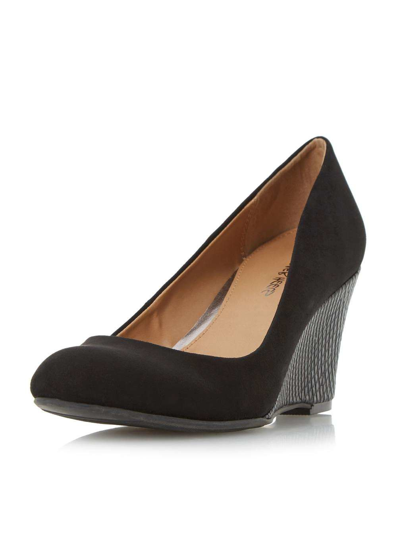 dorothy perkins heels angie wedge shoes in