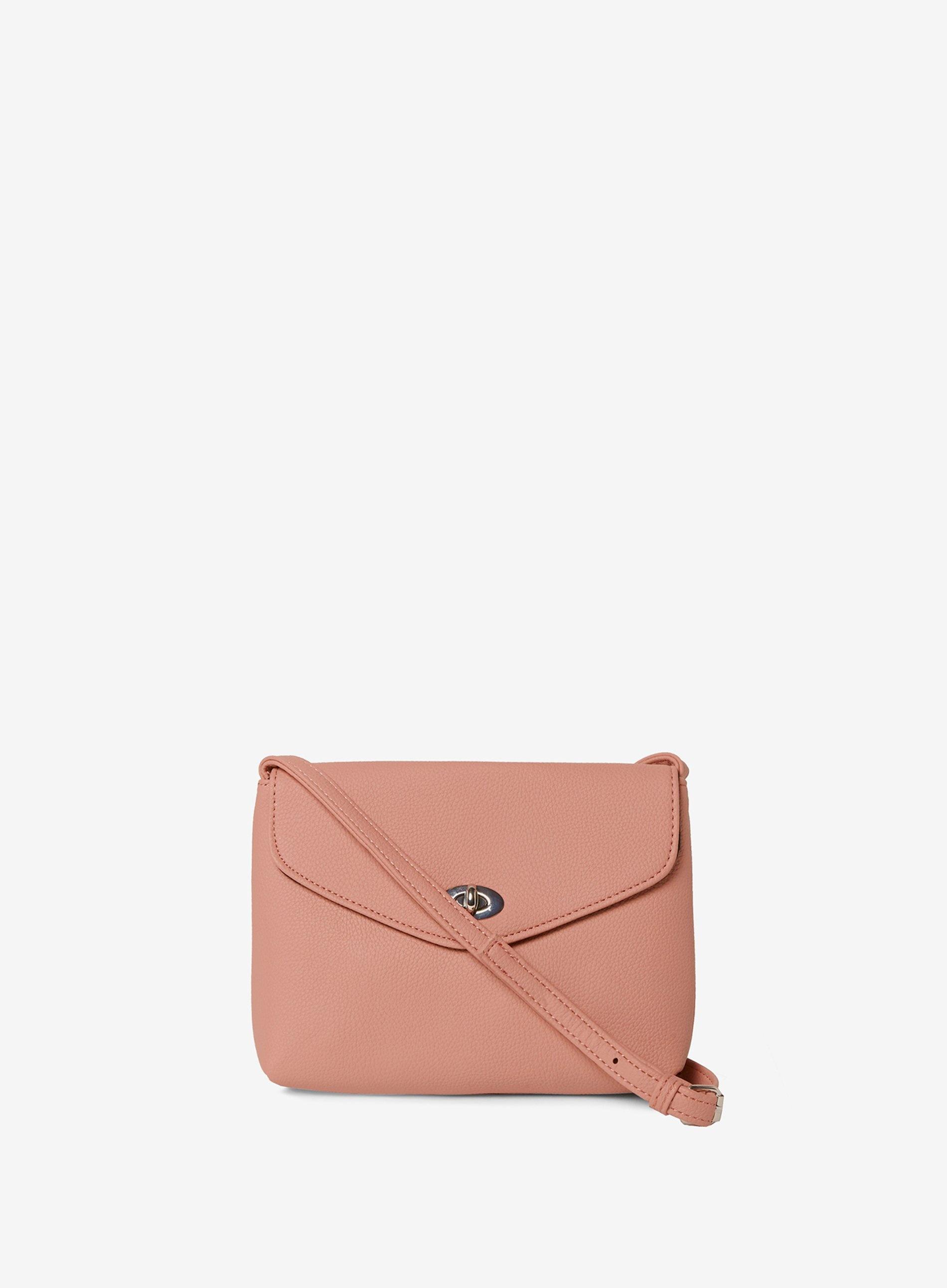 8fbc040a9bd Dorothy Perkins Blush Twist Lock Cross Body Bag in Pink - Lyst