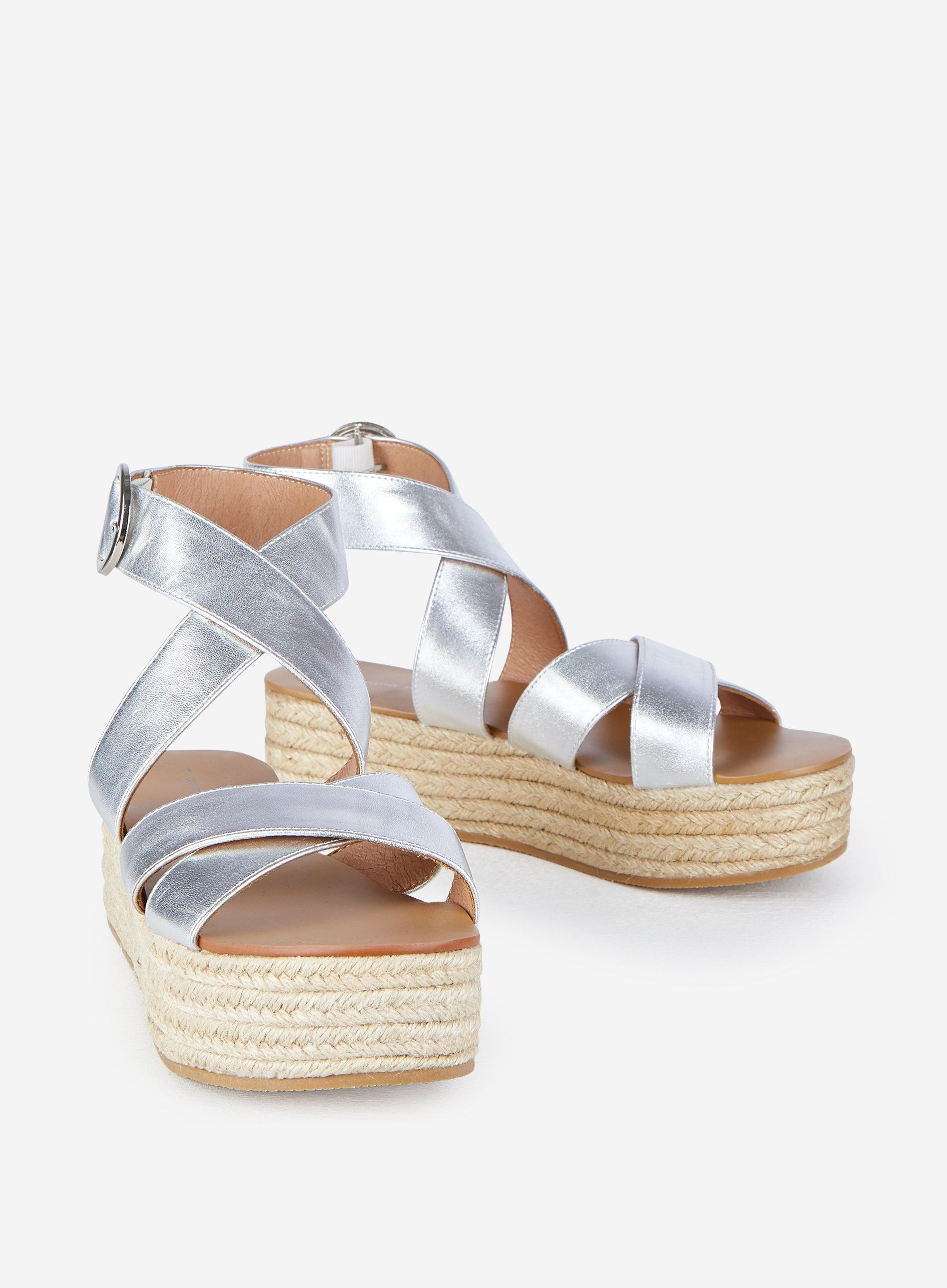 silver flatform sandals wholesale e6a1f