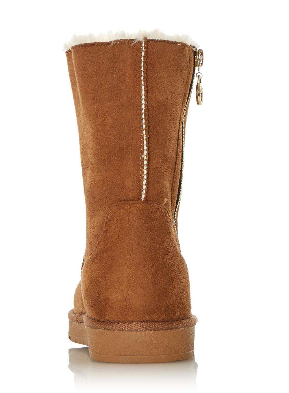 Dorothy Perkins Head Over Heels By Dune 'ricki' Tan Flat Boots in Brown