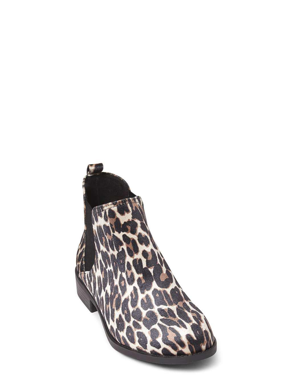 9e95628c9fe3 Dorothy Perkins Leopard Print 'moon' Chelsea Boots - Lyst