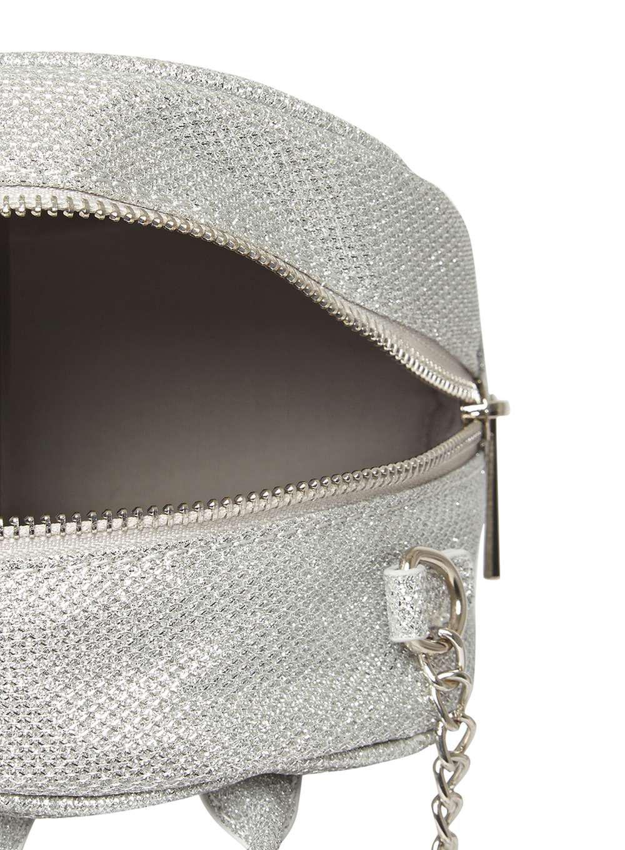 Dorothy Perkins Silver Mini Cross Body Bag in Metallic