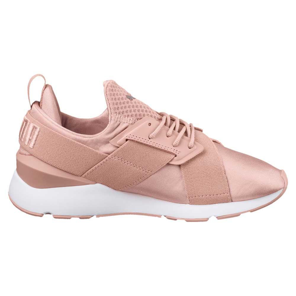 Puma Select Muse Satin Ep in Pink - Lyst