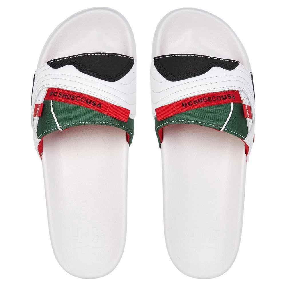 DC Shoes Williams Mens Black Synthetic Slide Sandals