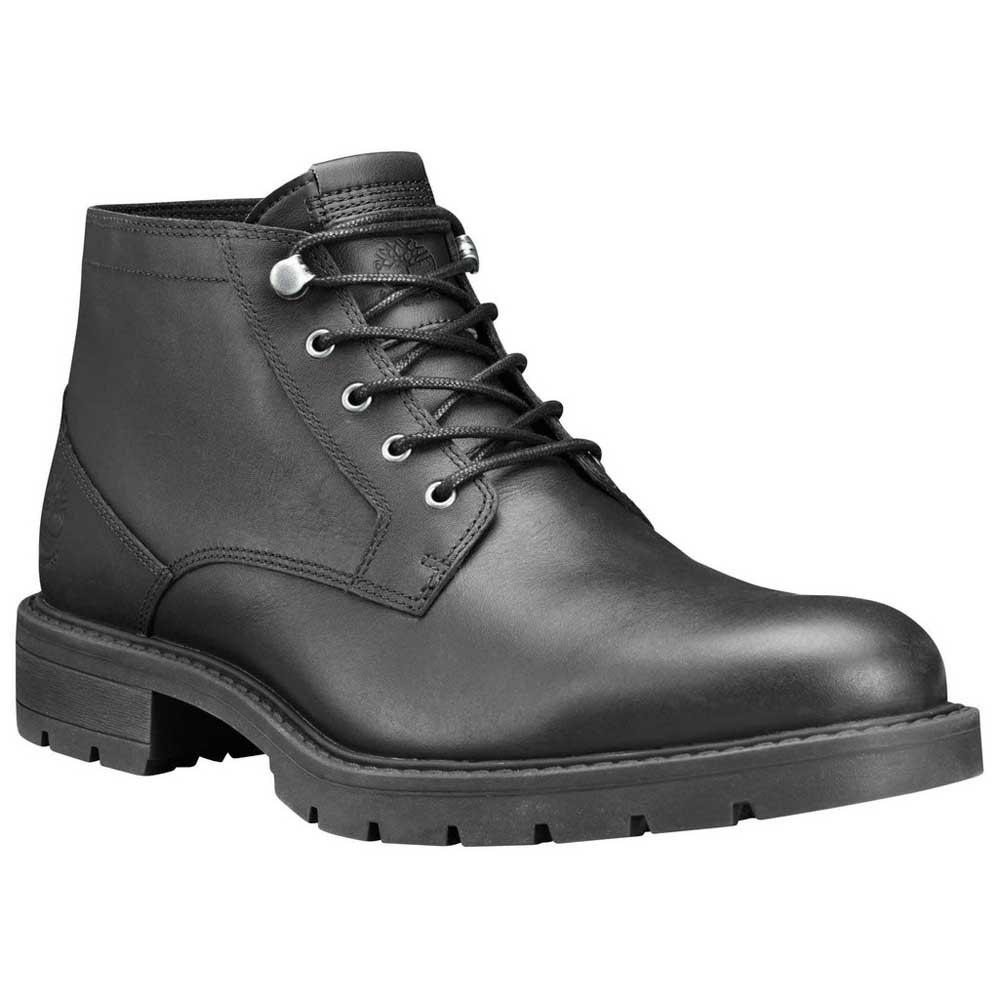 Inclinado saludo Especialista  Timberland Leather Elmhurst Waterproof Chukka in Black for Men - Lyst
