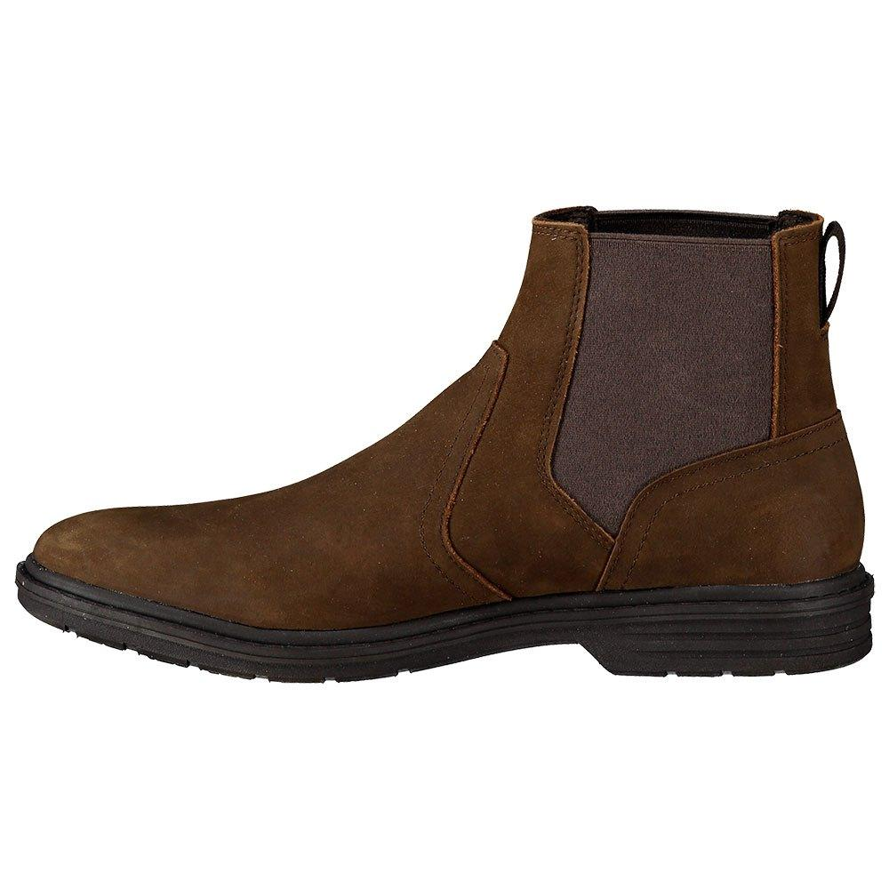 Continental Empeorando censura  Timberland Leather Sawyer Lane Chelsea in Brown for Men - Lyst