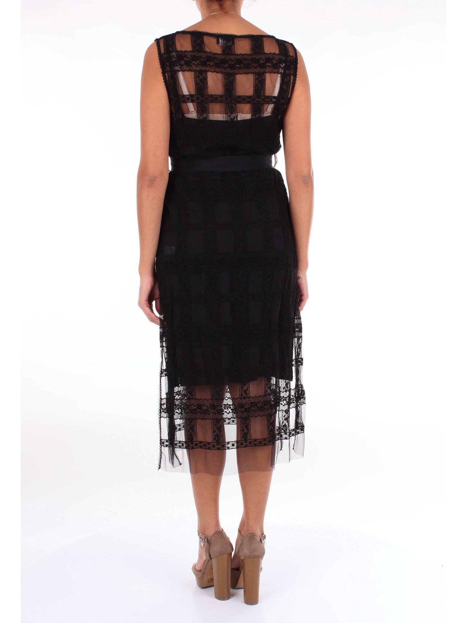 Vestidos Ermanno Scervino de color Negro