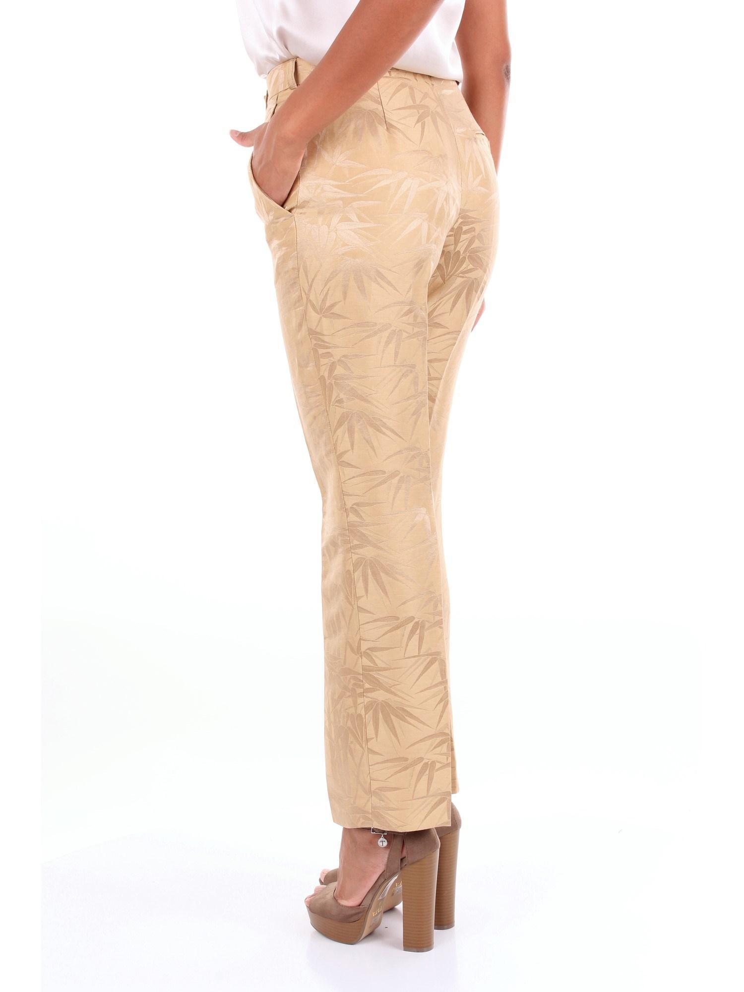 Pantalones chino Etro de color Metálico
