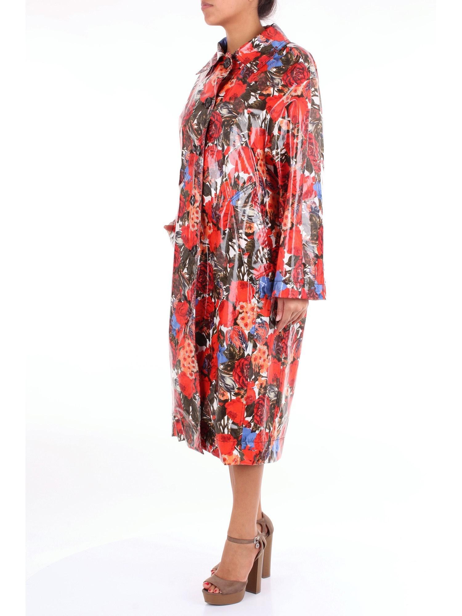 Vêtements d'extérieur long Marni en coloris Rouge wgoqF