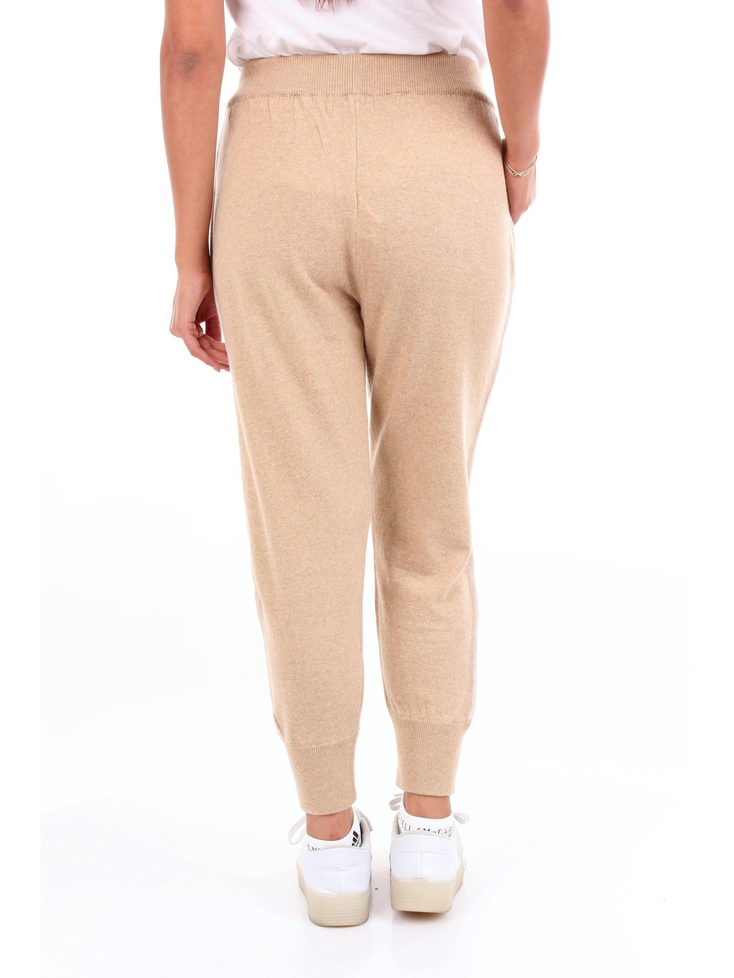 Pantalone Cachemire CROCHÈ en coloris Neutre