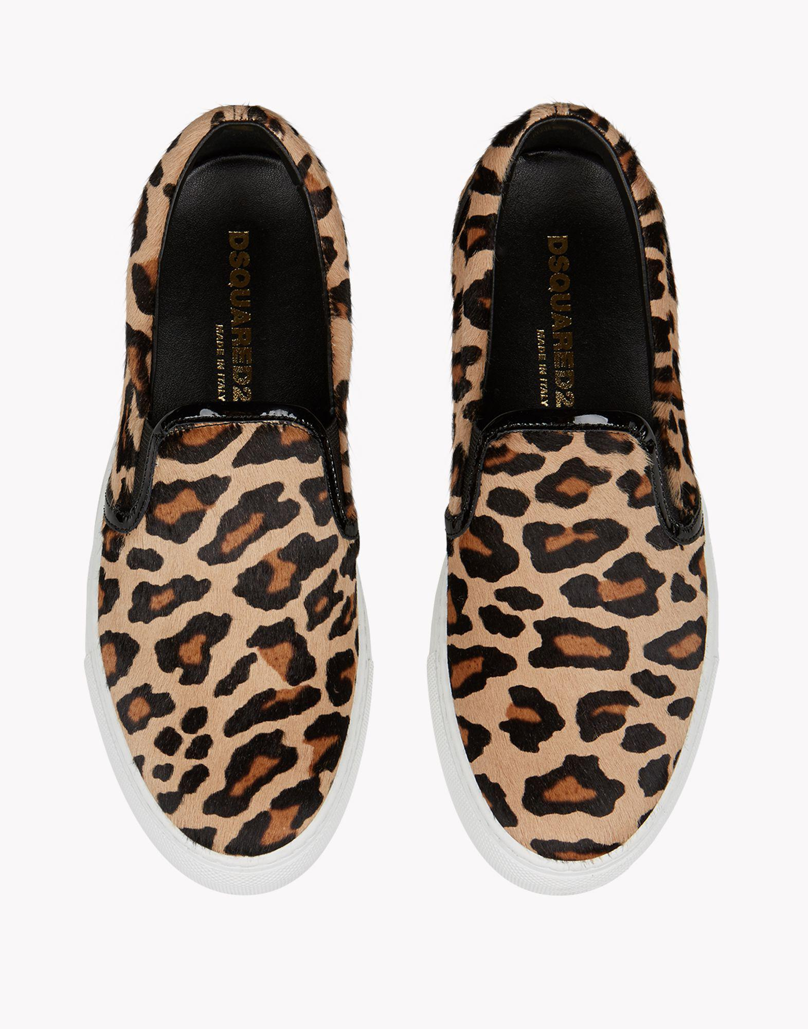 DSquared² Leather Essential Sneakers