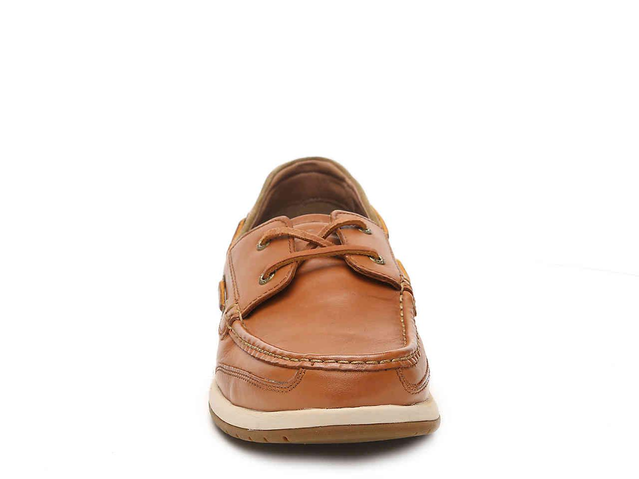 098e8486c7 Lyst - Tommy Bahama Land Lover Boat Shoe in Brown for Men