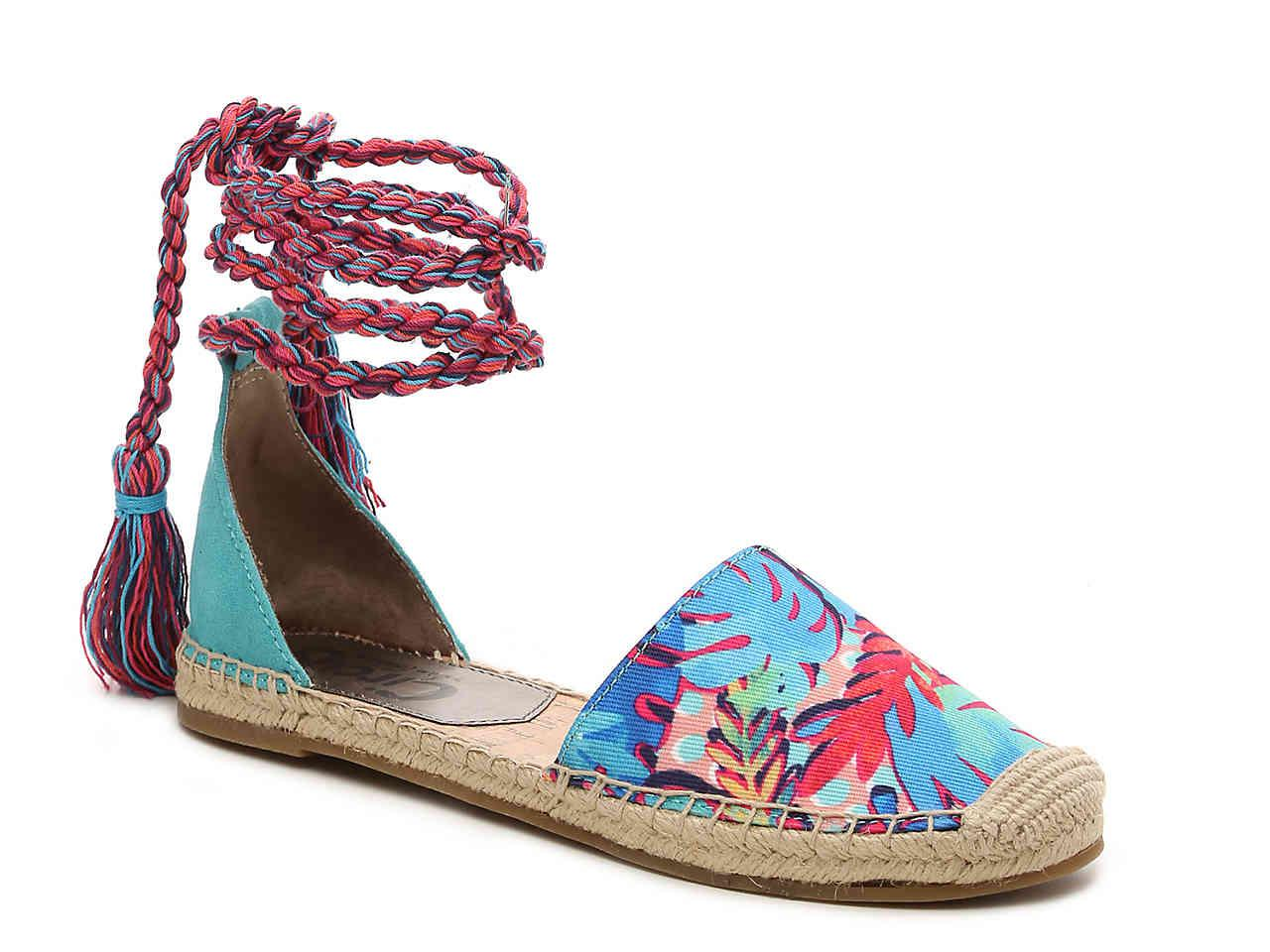 7d0766c6571a0 Lyst - Circus by Sam Edelman Lenora Flat in Blue