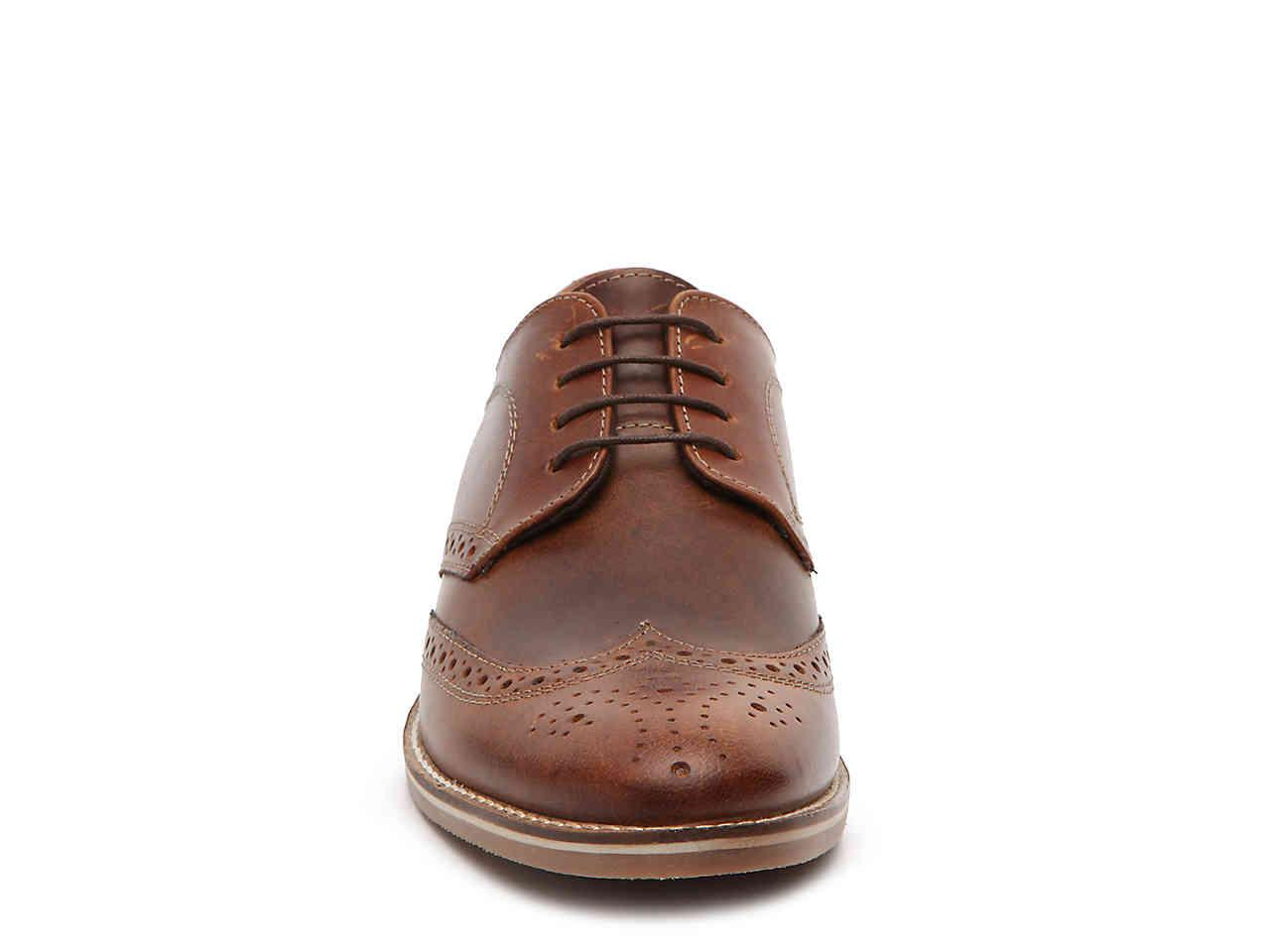Lyst - Red Tape Checkley Wingtip Oxford in Brown for Men