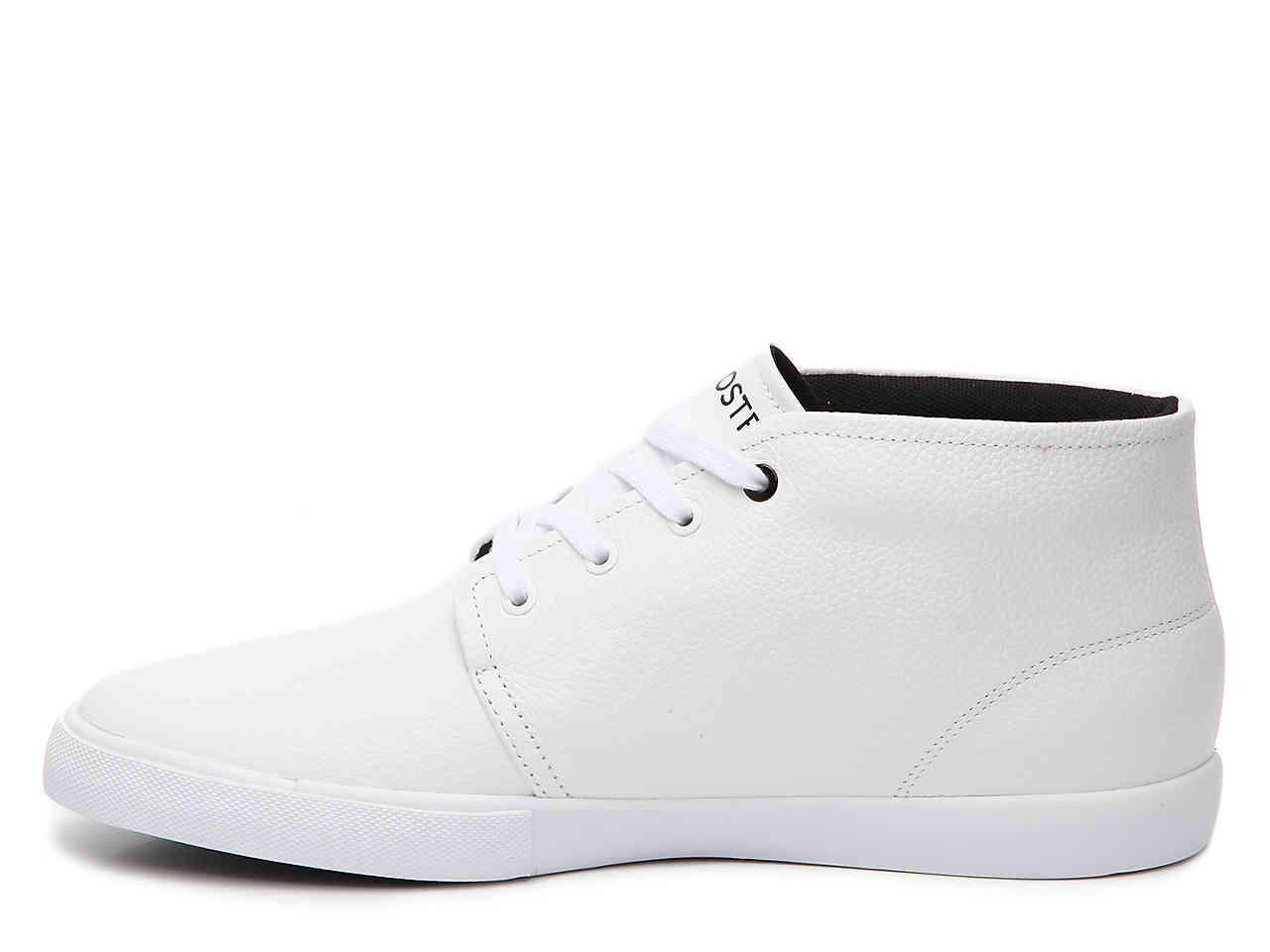 66f8d7feeb90c Lyst - Lacoste Asparta Mid-top Sneaker in White for Men