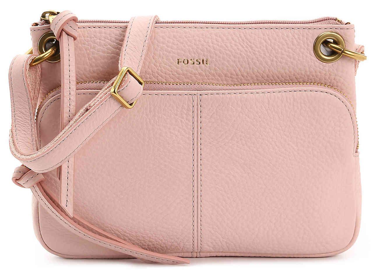 Karli Leather Crossbody Bag