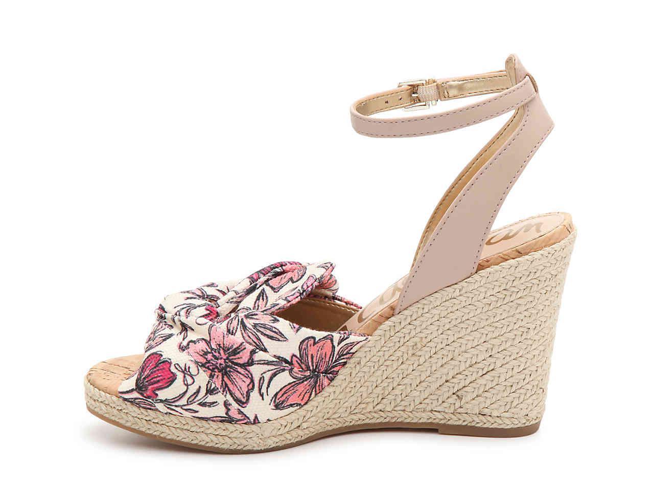 c4f0fcb364f Women's Pink Aubrey Wedge Sandal