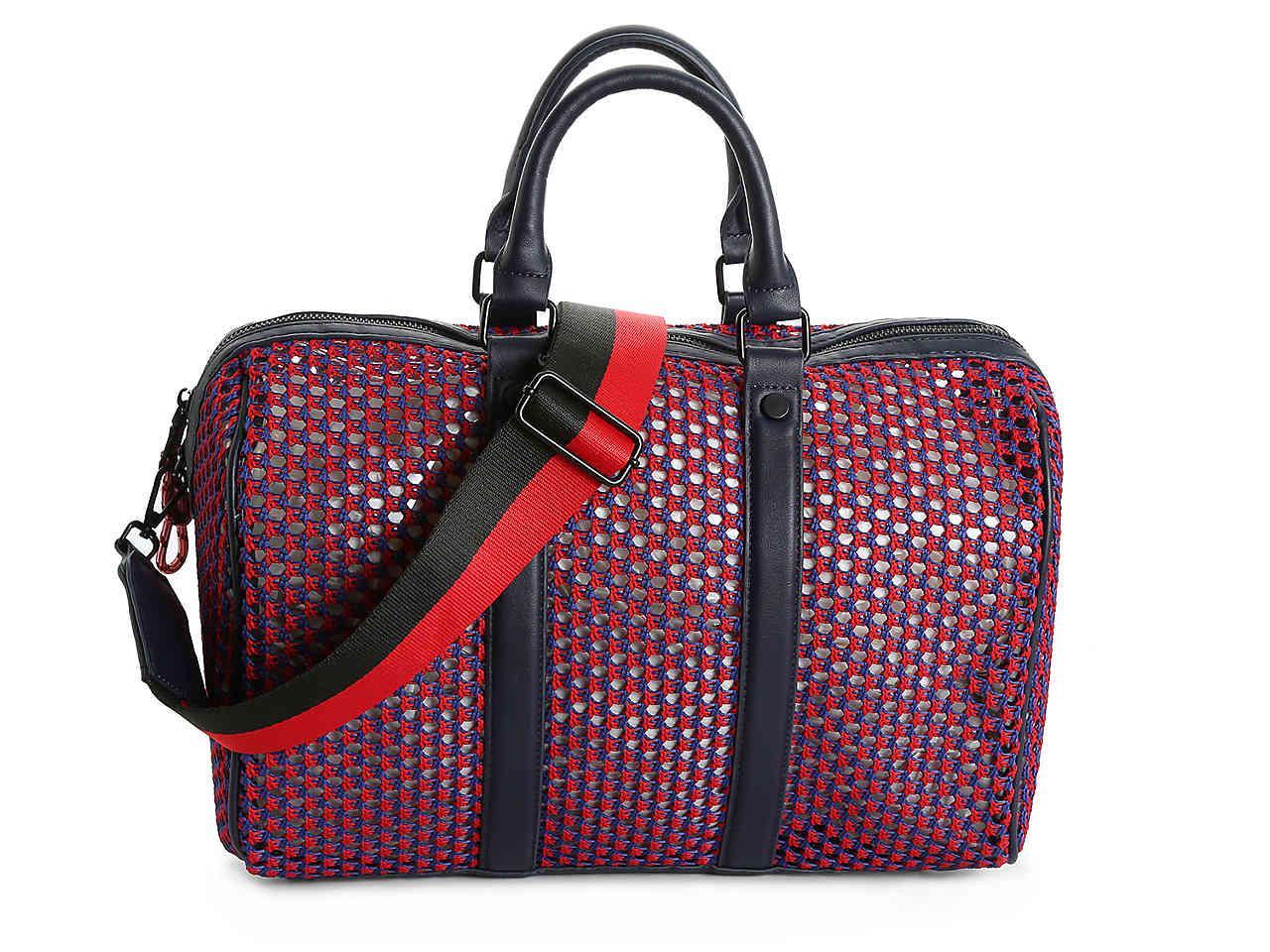 Steve Madden Bthunder Weekender Bag in Red\/Navy (Red) - Lyst